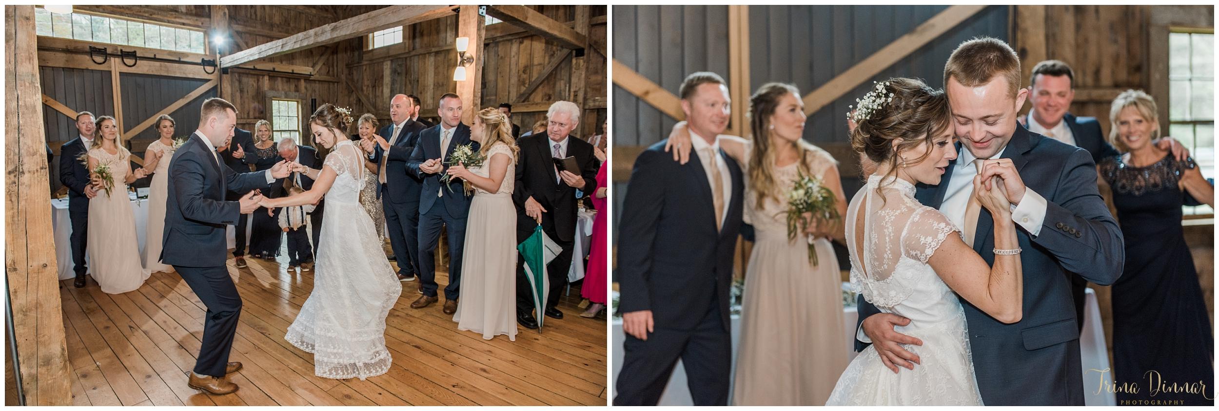 Barn Wedding in Buxton Maine