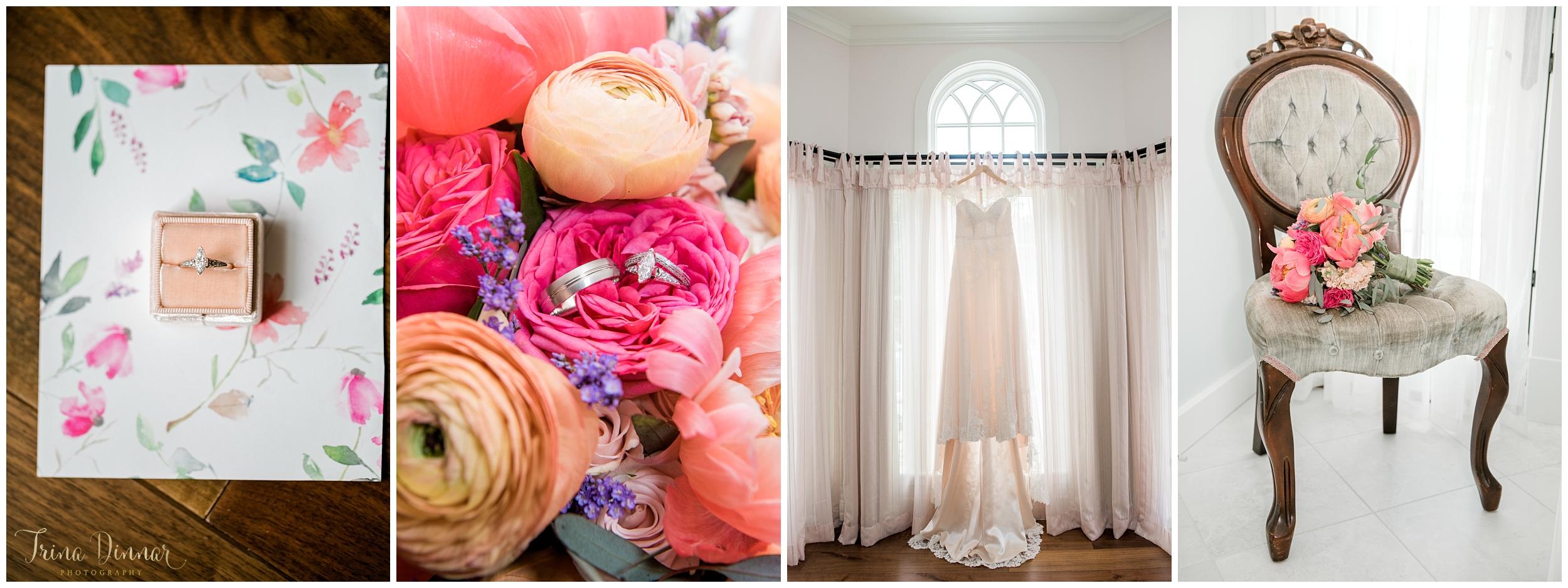 Wedding Photography details by Trina Dinnar.
