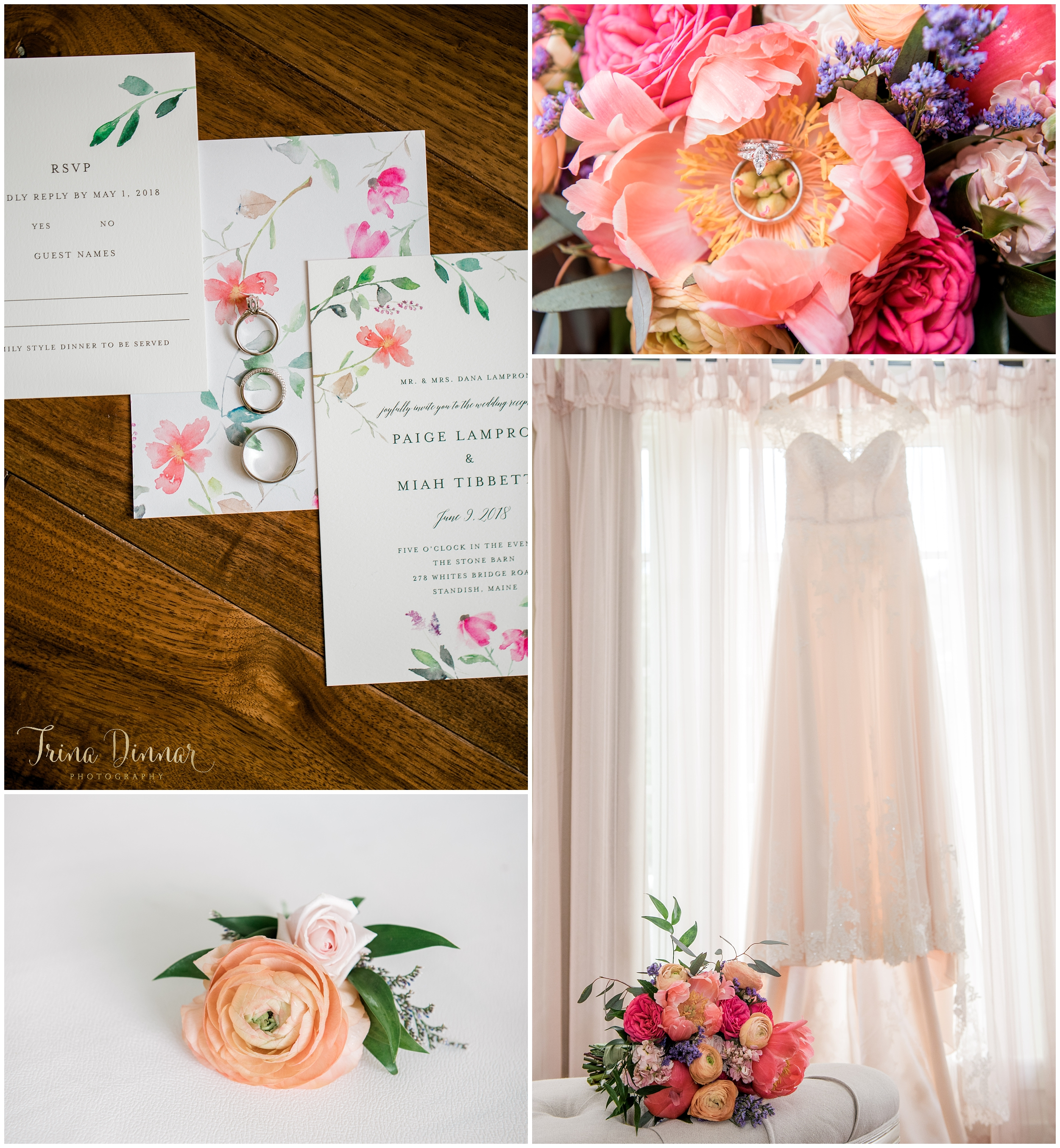 Studio Flora Windham Maine Florist - Flowers and Wedding Details