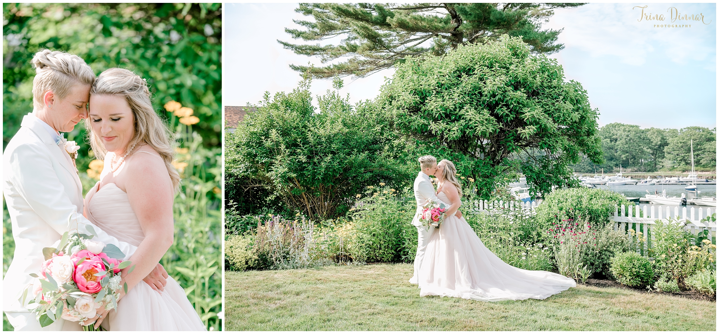 Elegant Same Sex Wedding in Maine
