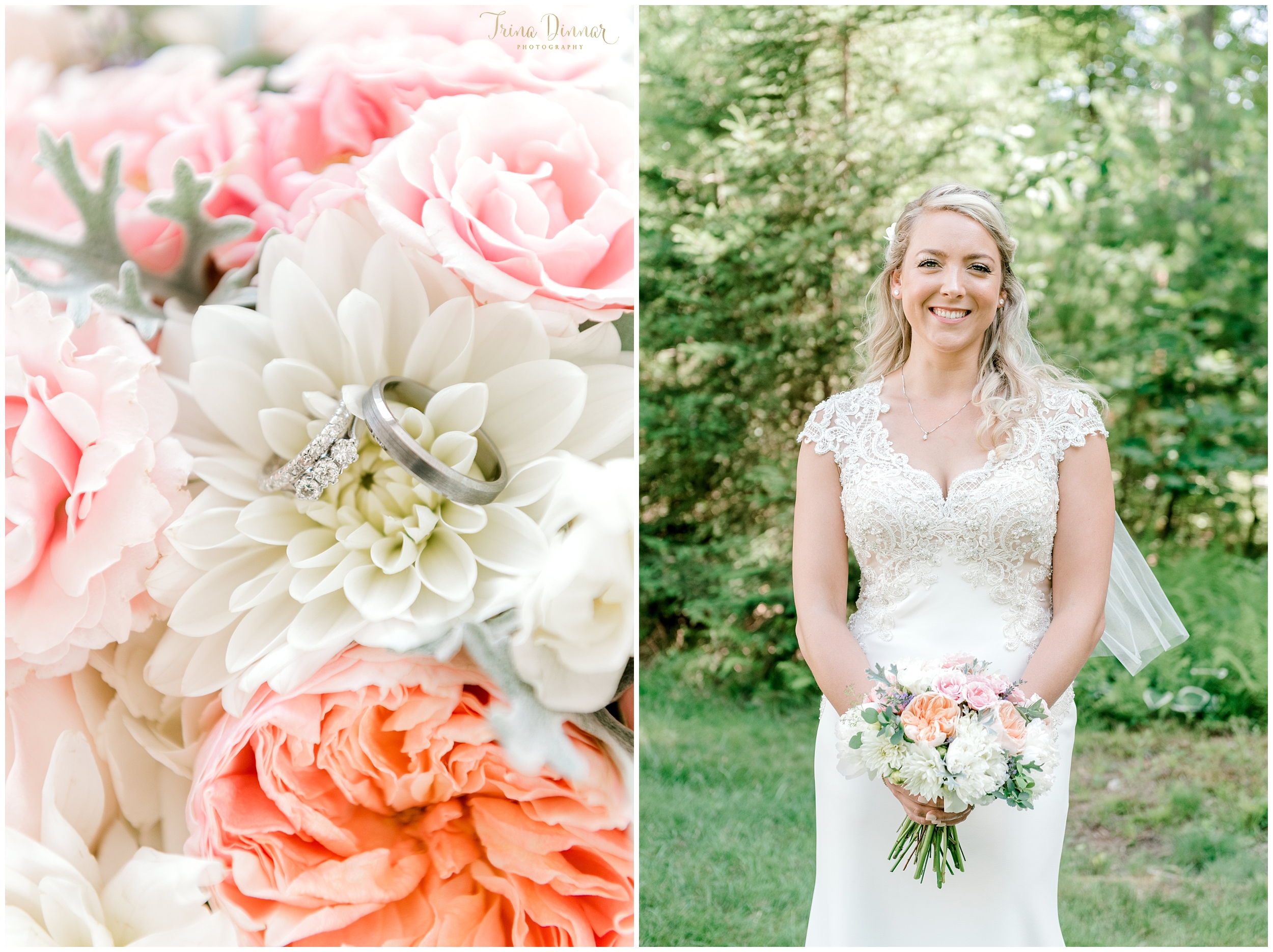 Southern Maine Bridal and Wedding Portraits by Trina Dinnar