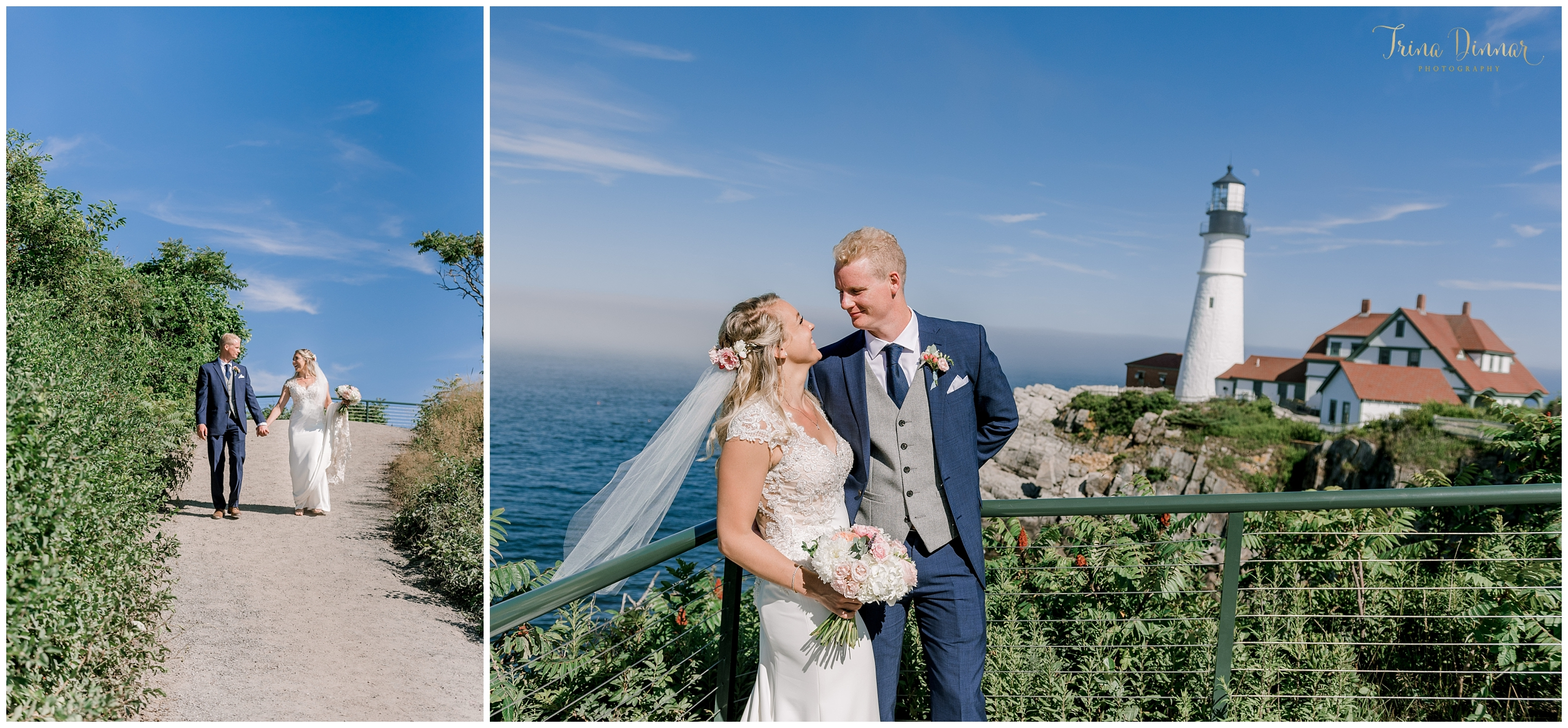 Coastal Maine Wedding in Cape Elizabeth