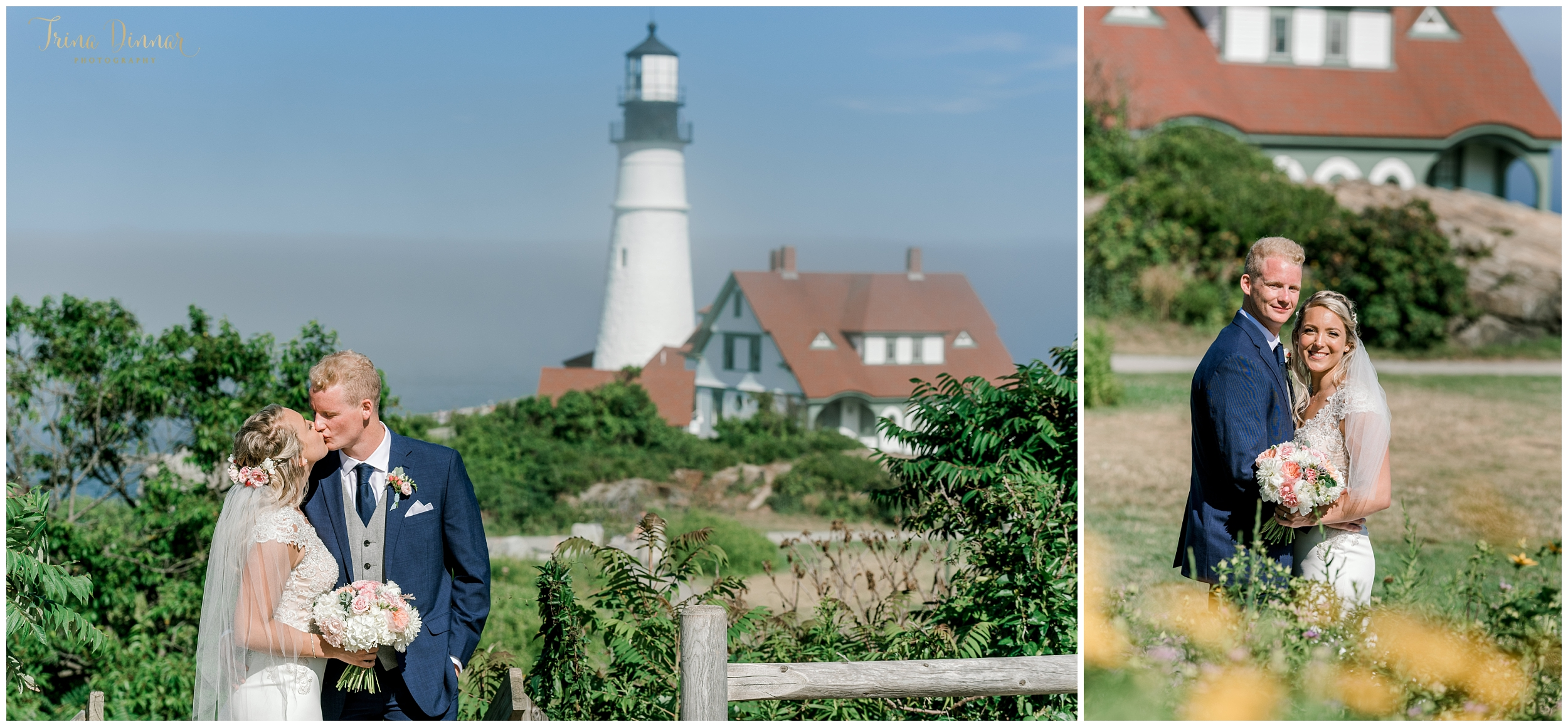 Portland Headlight Wedding at Fort Williams Park