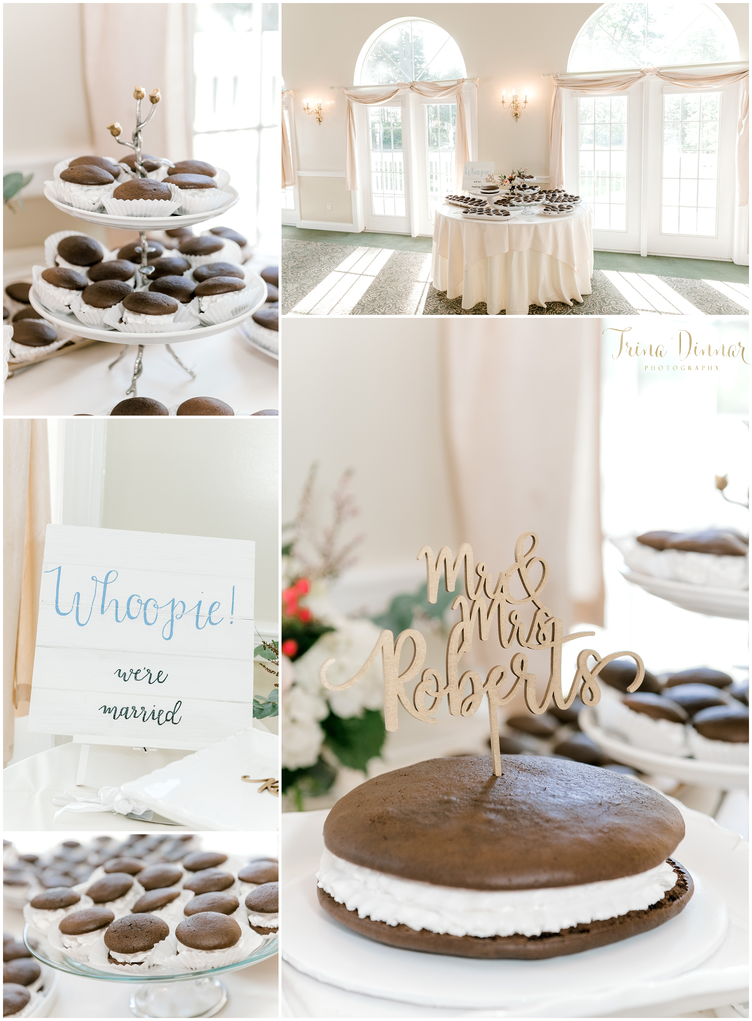 Whoopie Pie Maine Wedding Cakes and Desserts by Billi Jo