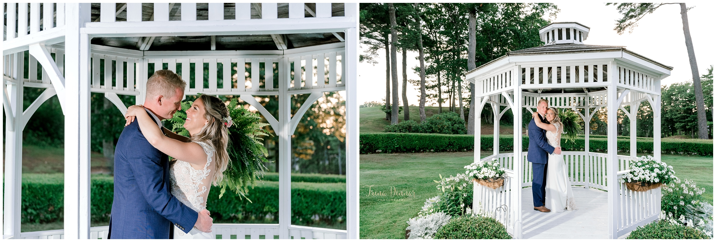 Dunegrass Gazebo Bride and Groom Portraits