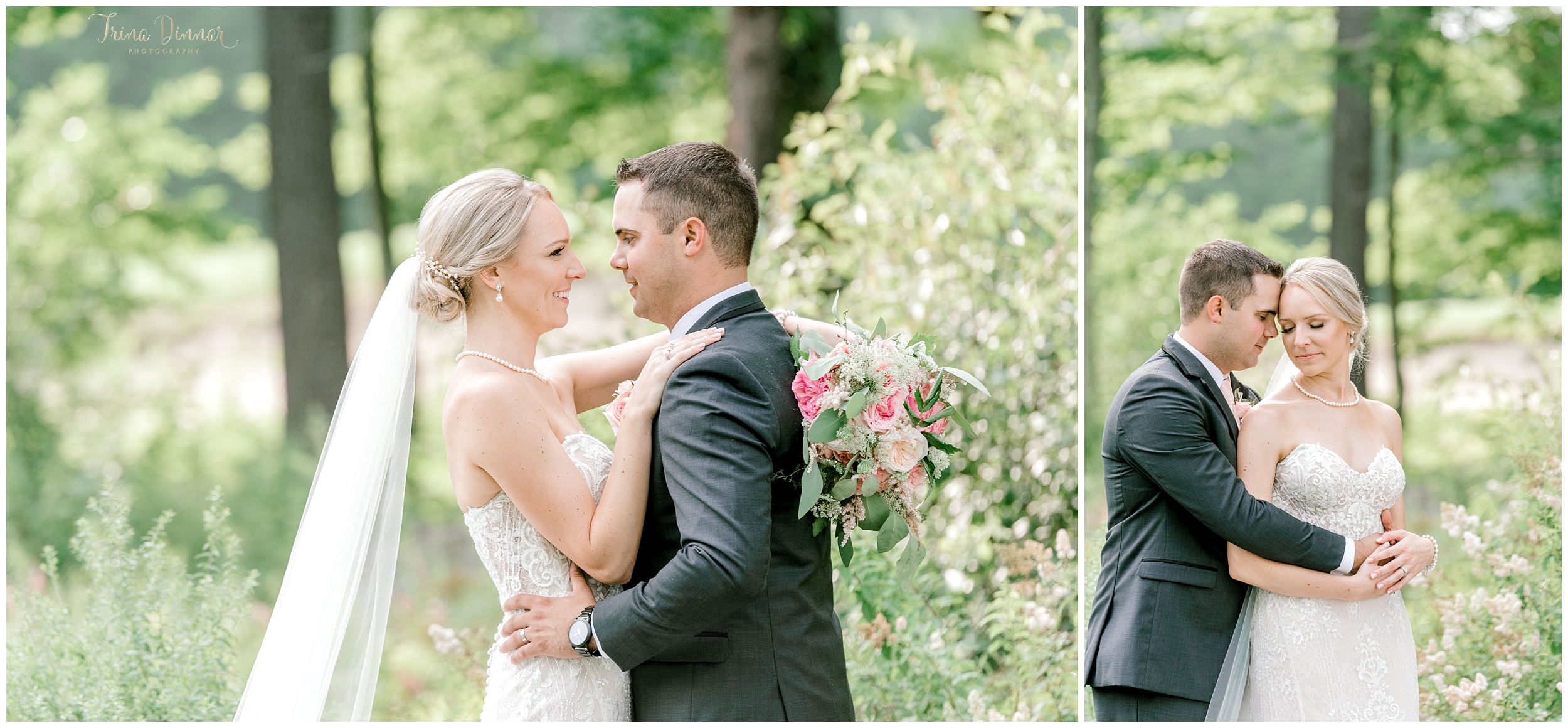 Maine Wedding Portraits at the Falmouth Country Club