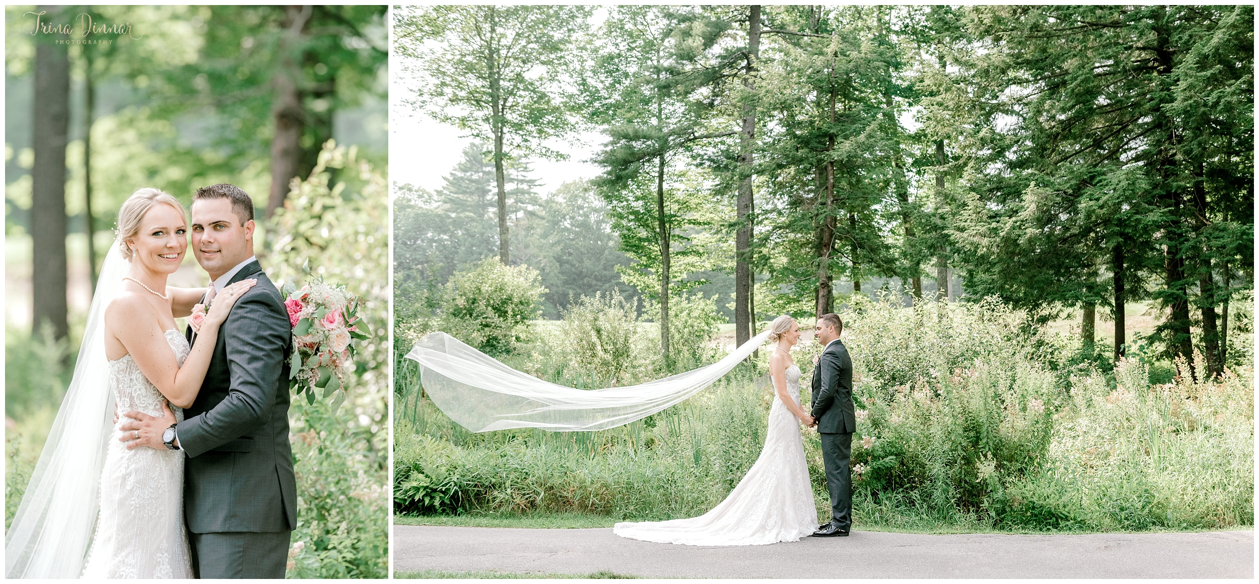 Trina Dinnar is a Falmouth Country Club Wedding Photographer