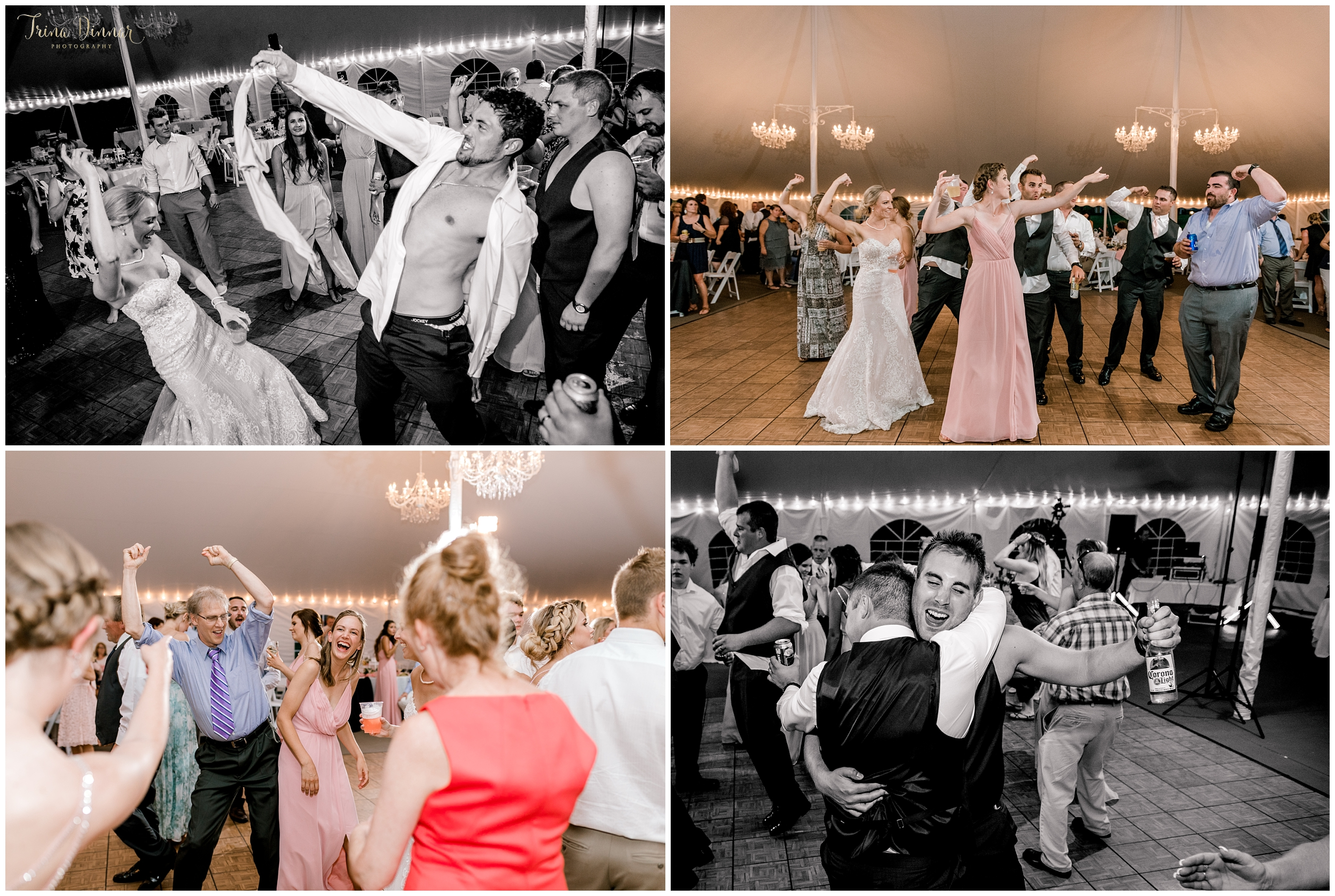 Dancing the night away at Falmouth CC in Maine