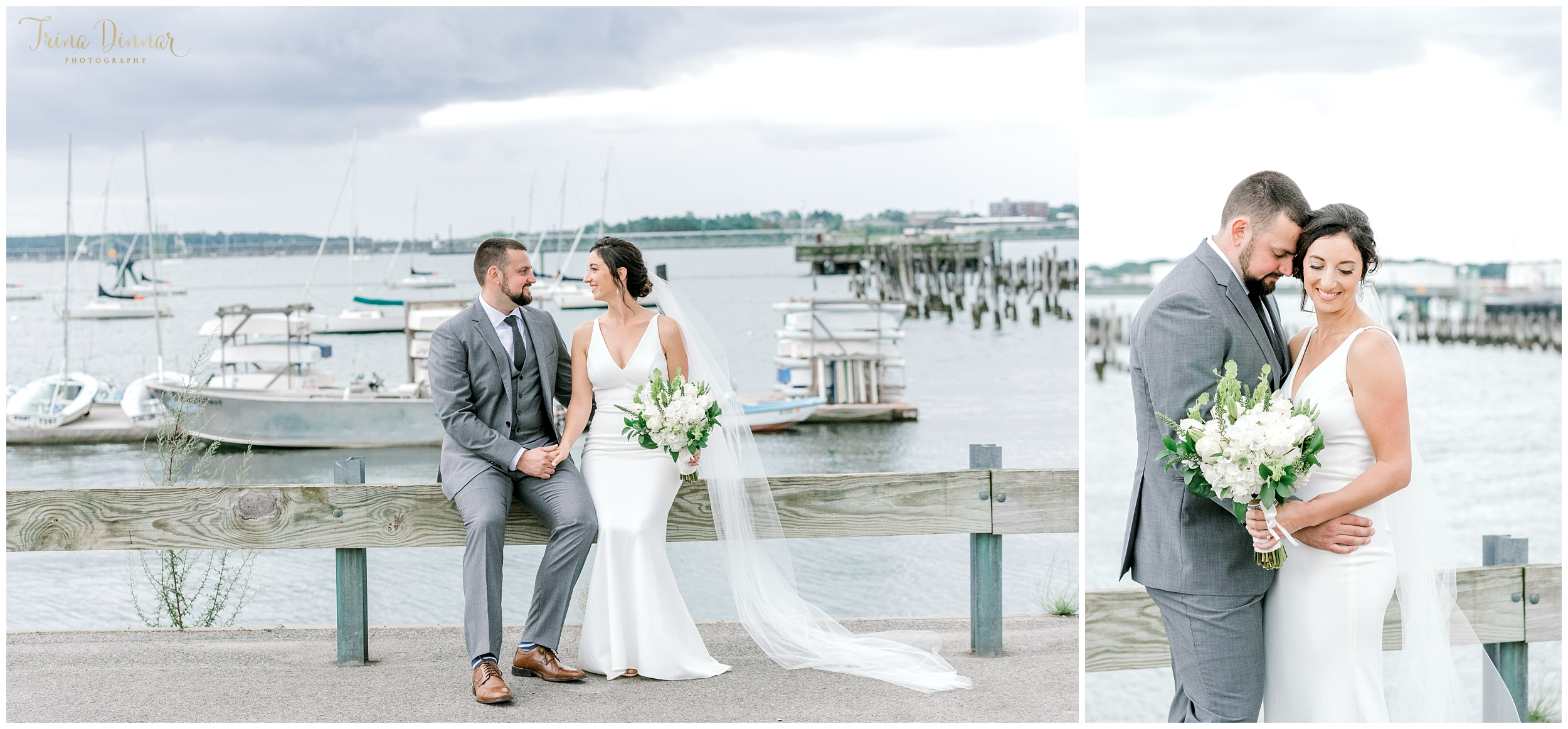 Portland Maine Ocean Gateway Wedding Photographer