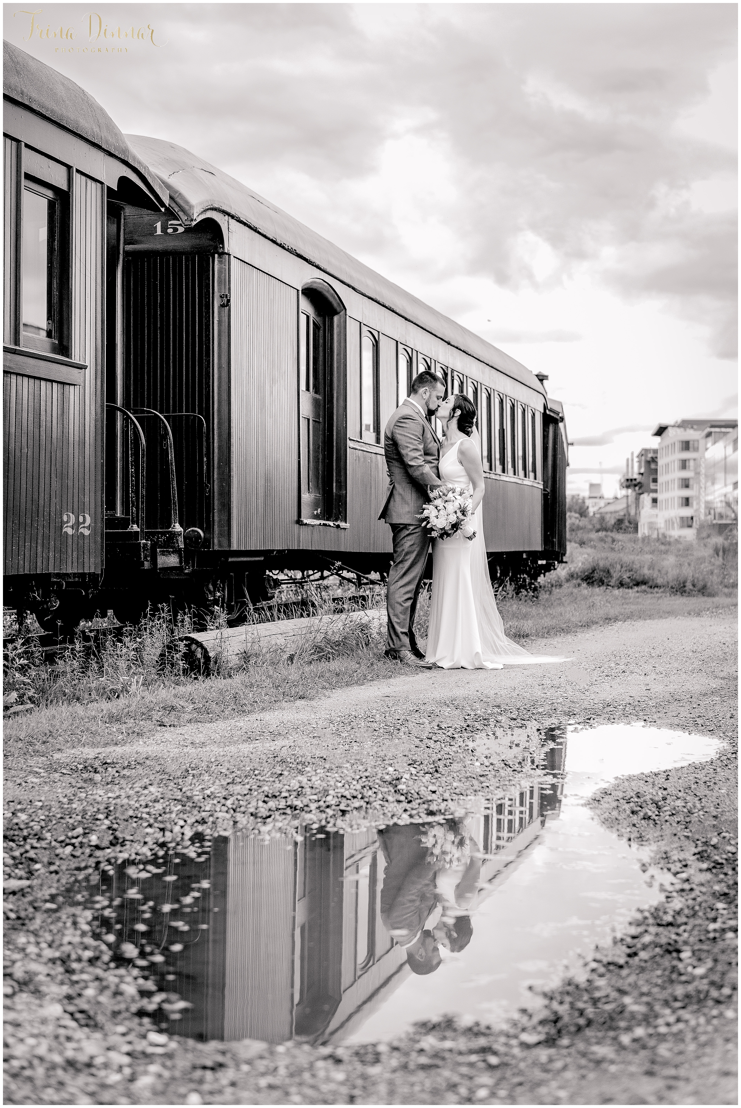 Narrow Gauge Railroad Portland Maine Wedding