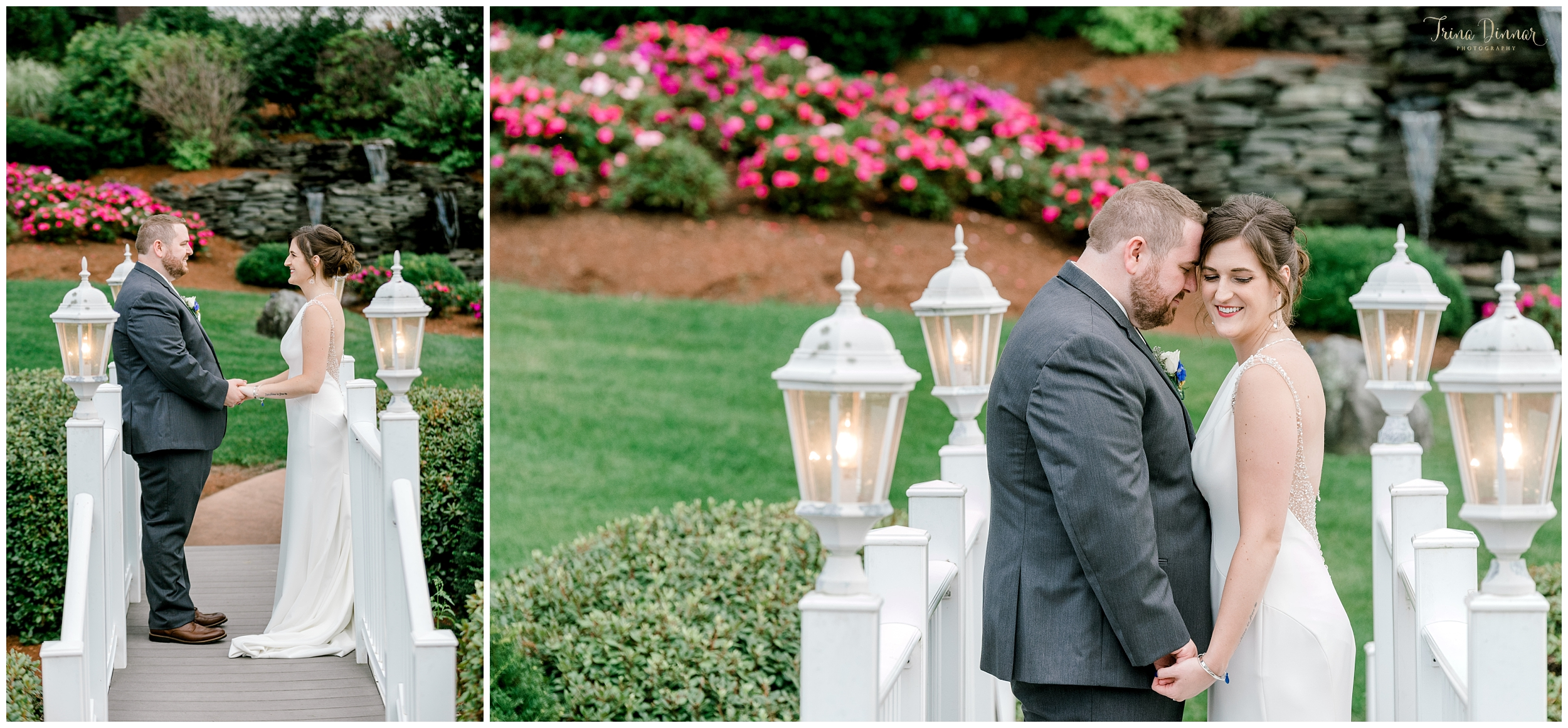 New Hampshire Wedding Photographer at the Castleton photographs Bride and Groom
