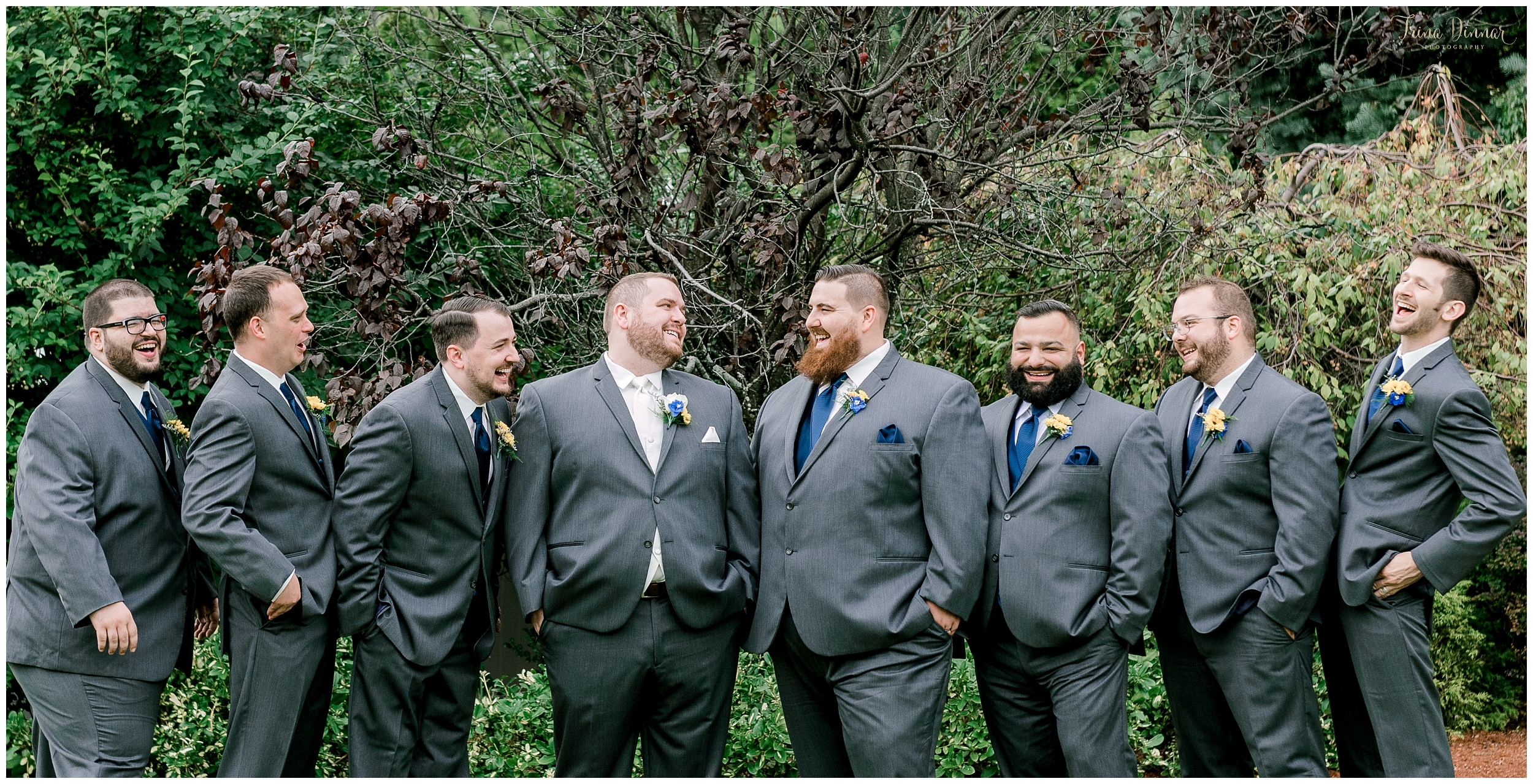 Alex and his groomsmen