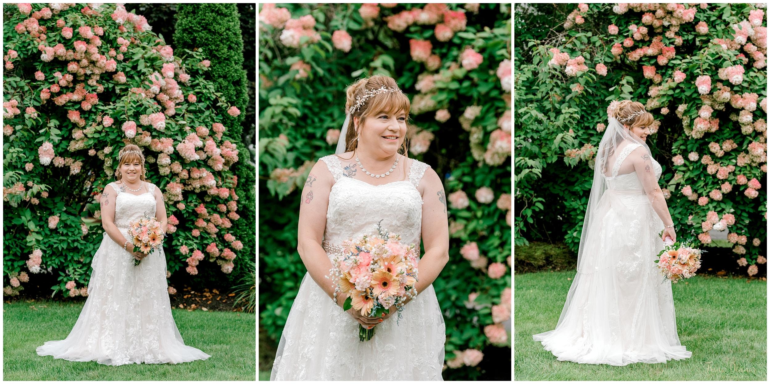 Bridal wedding day portraits