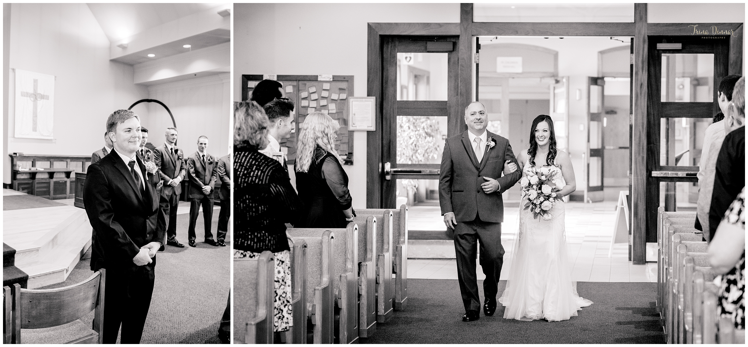 Maine wedding at St. Maximilian Kolbe
