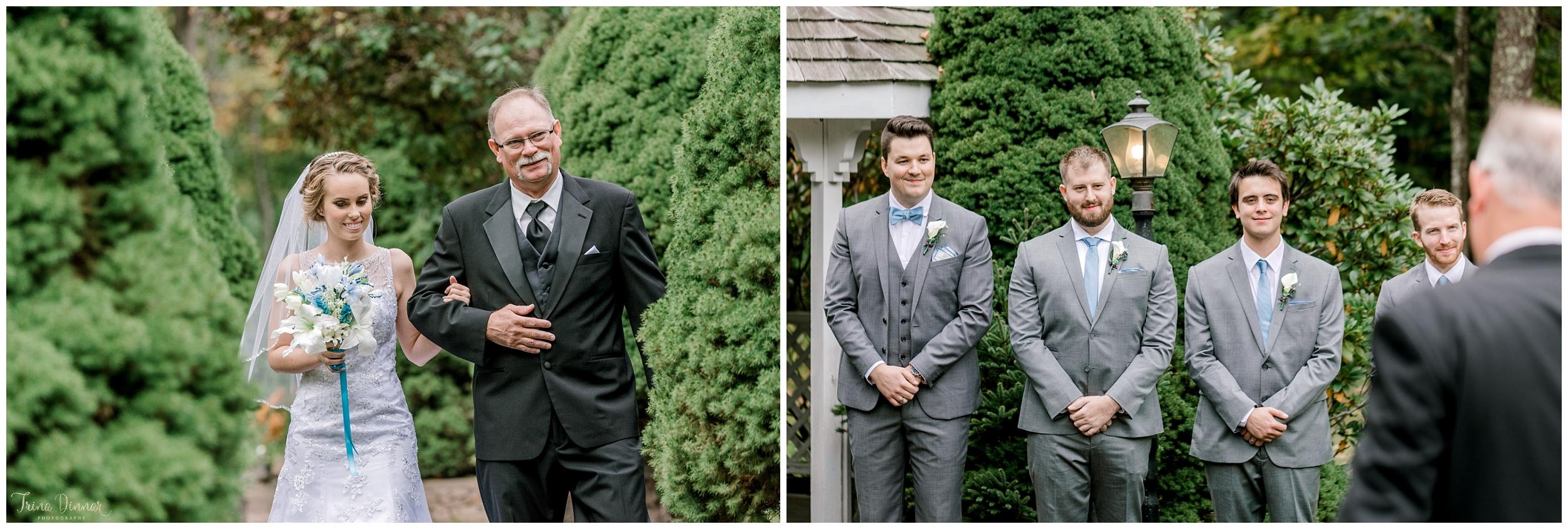 Cape Neddick wedding ceremony