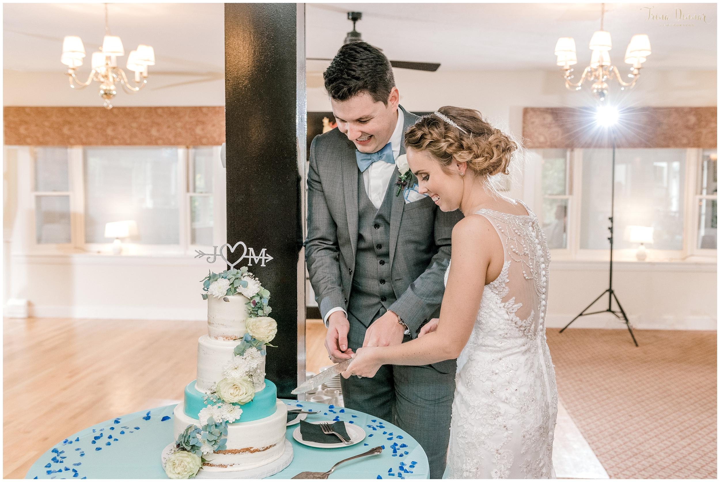Mallori and James Cake Cutting