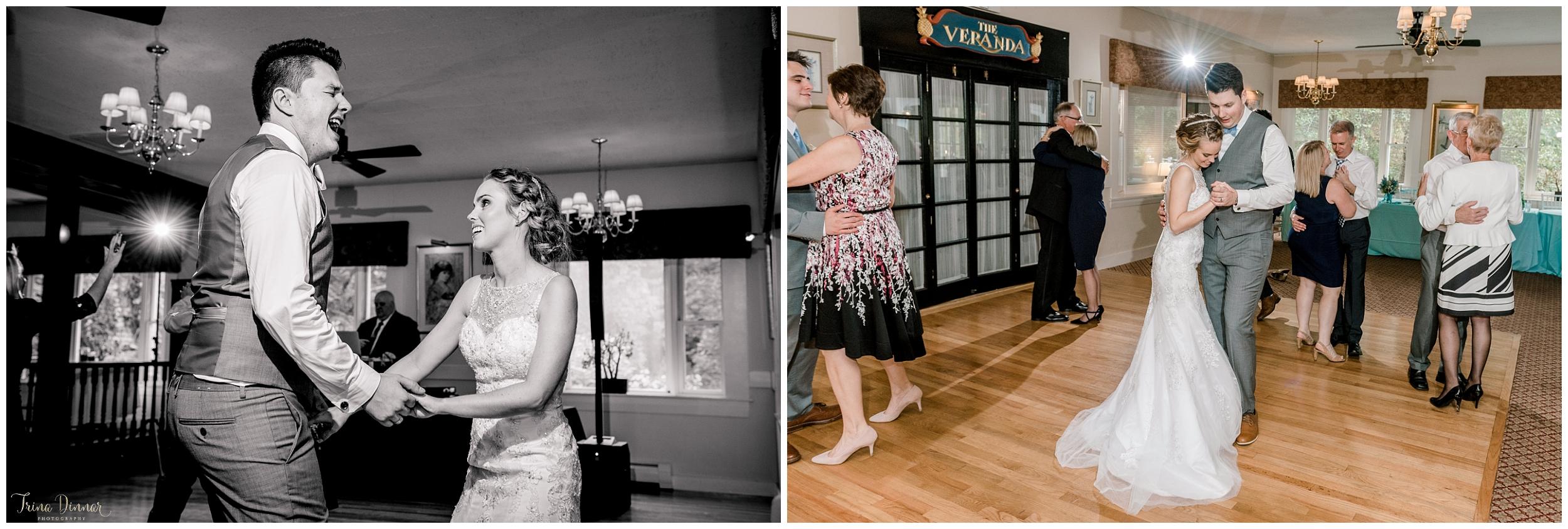 Cape Neddick wedding reception dancing