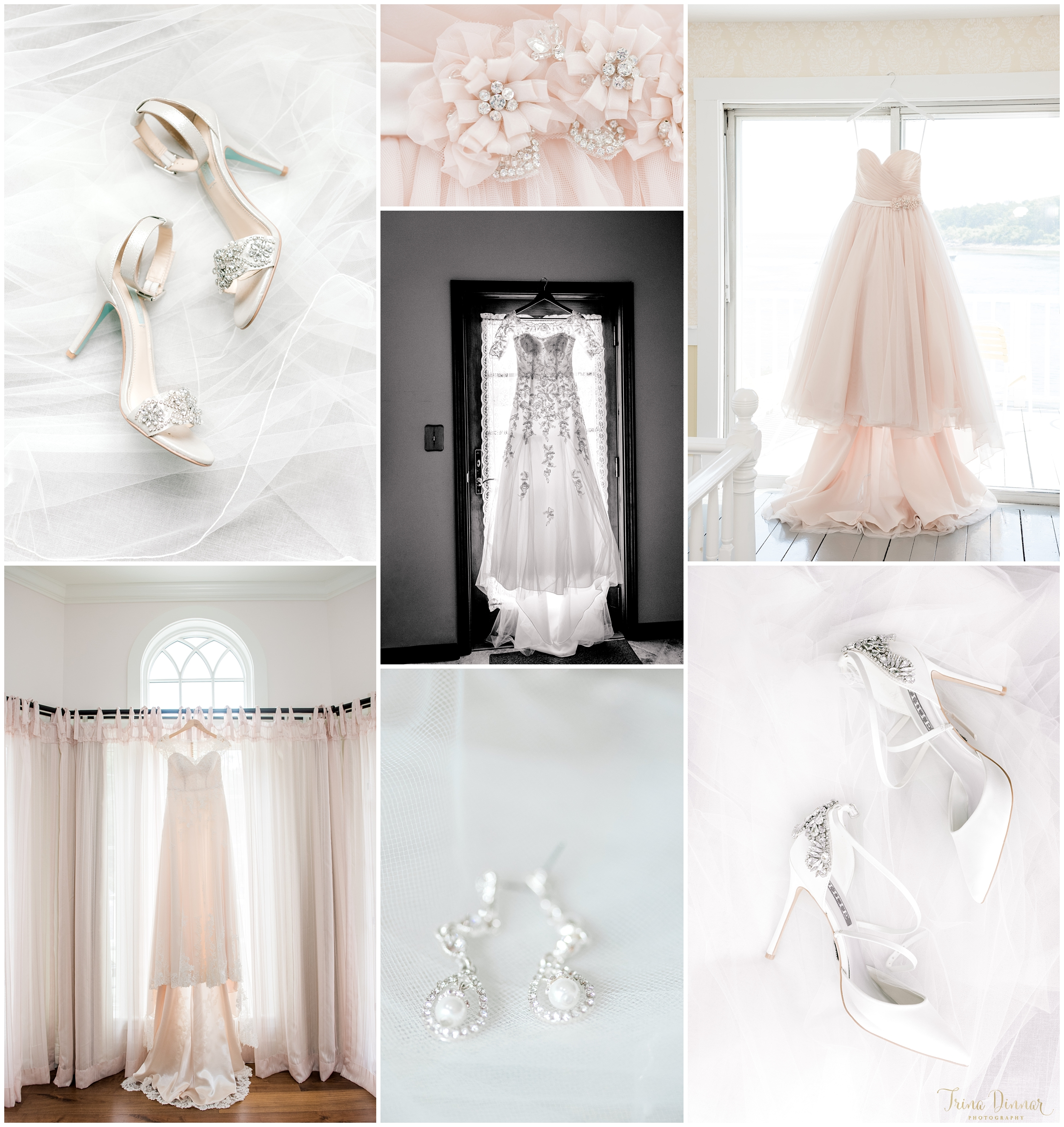Here are a few of my favorite images depicting Maine bridal attire that I photographed in 2018.