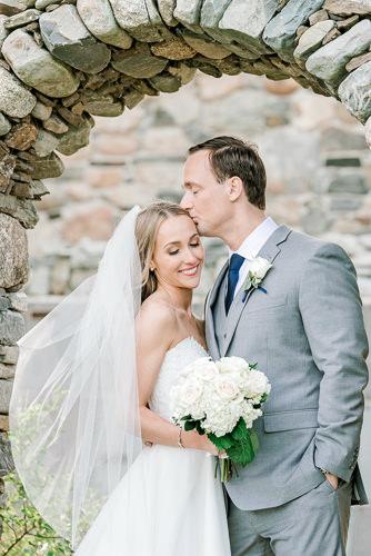 Rustic farm wedding in Maine