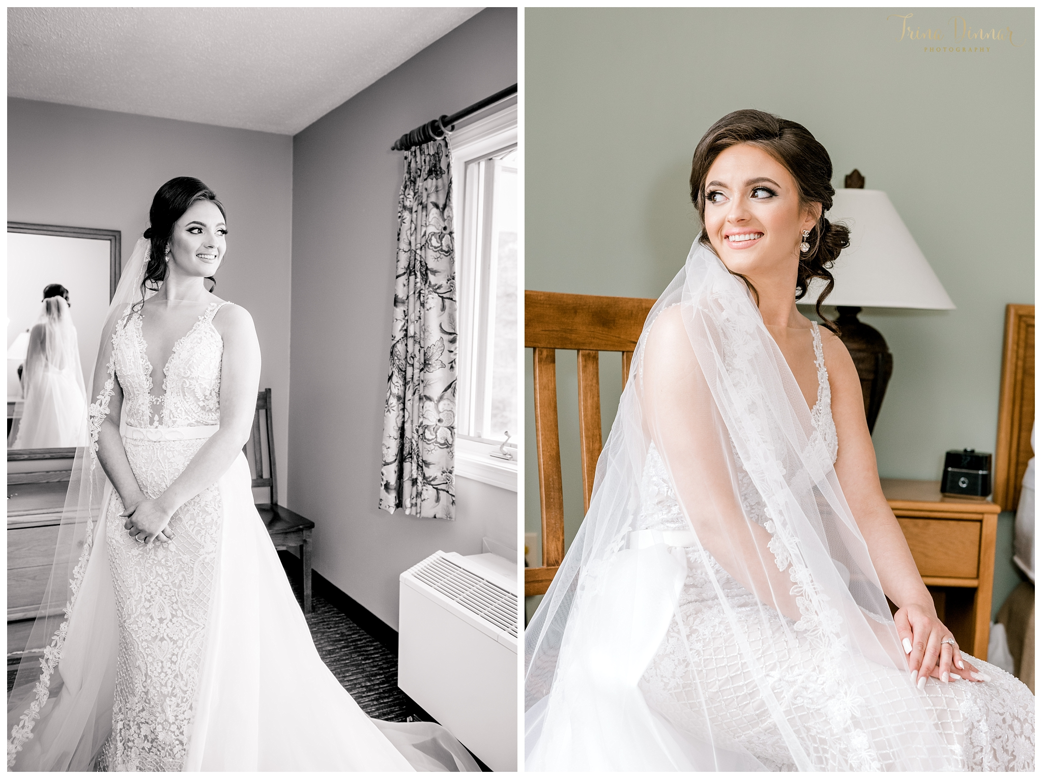 Sunday River Newry Maine Bridal Photos at Grand Summit Hotel