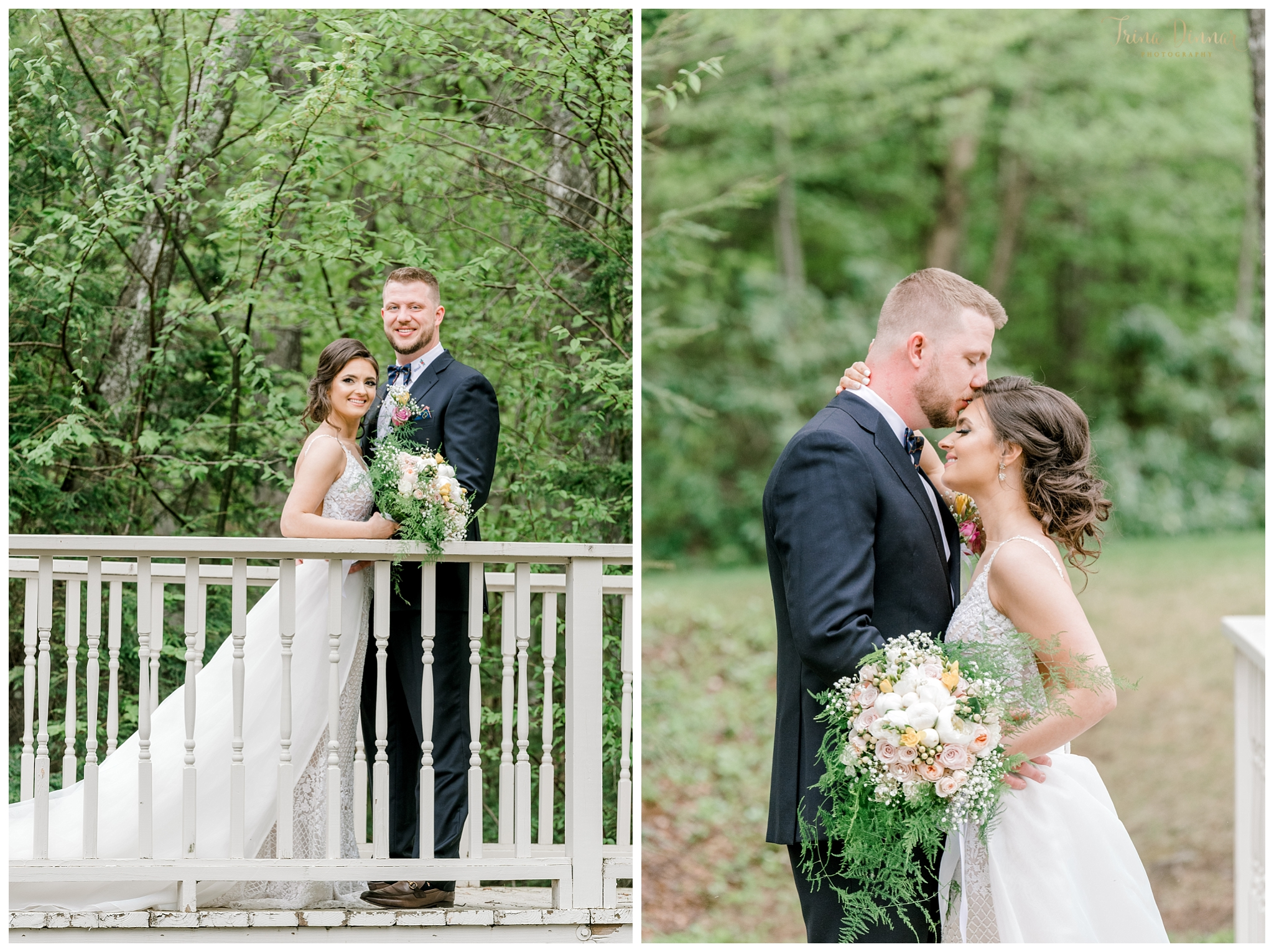 Sunday River Newry Maine Wedding Portrait Photography of Bride and Groom