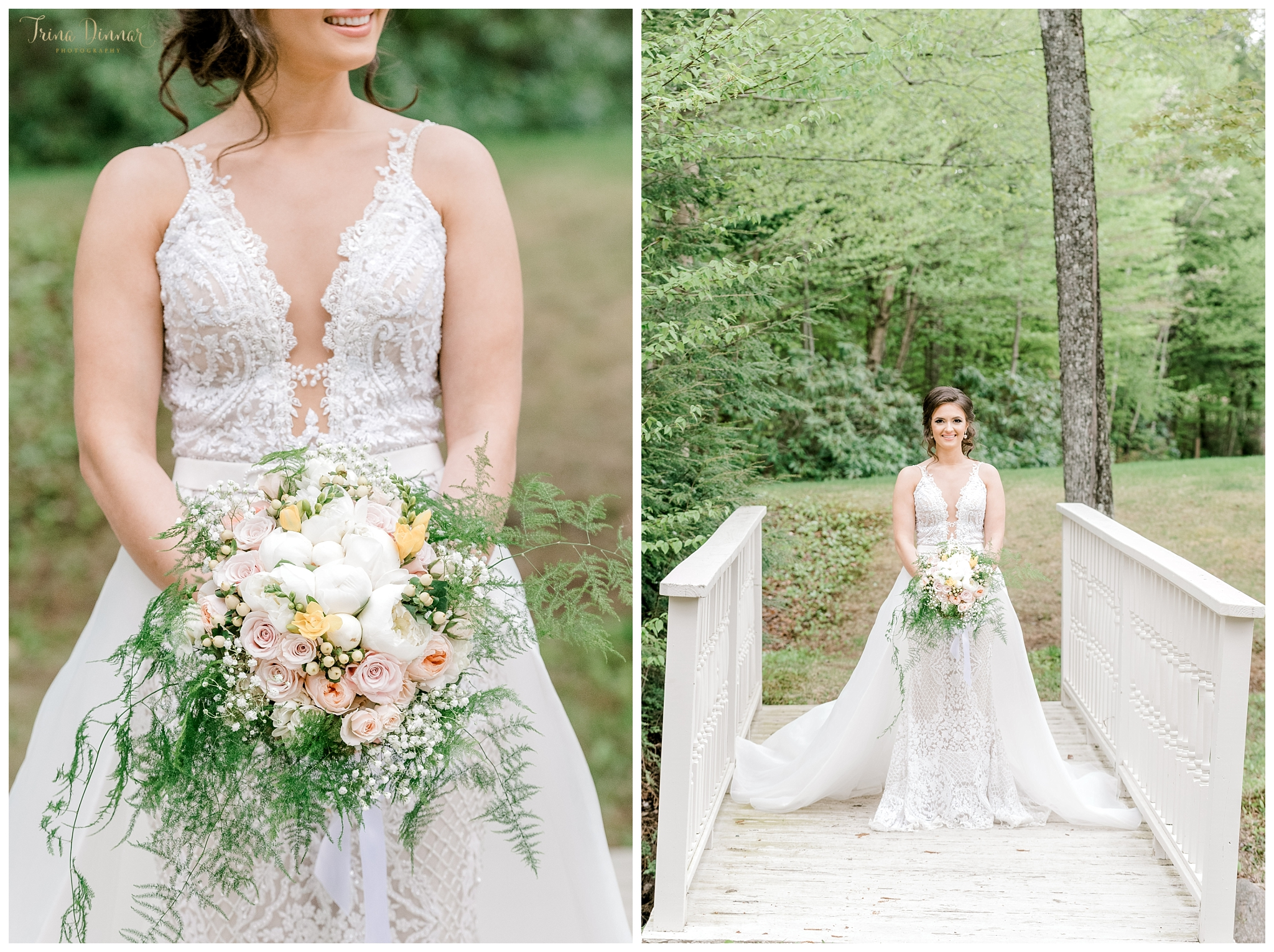 Sunday River Ski Resort Bridal Wedding Photography in Newry, Maine.