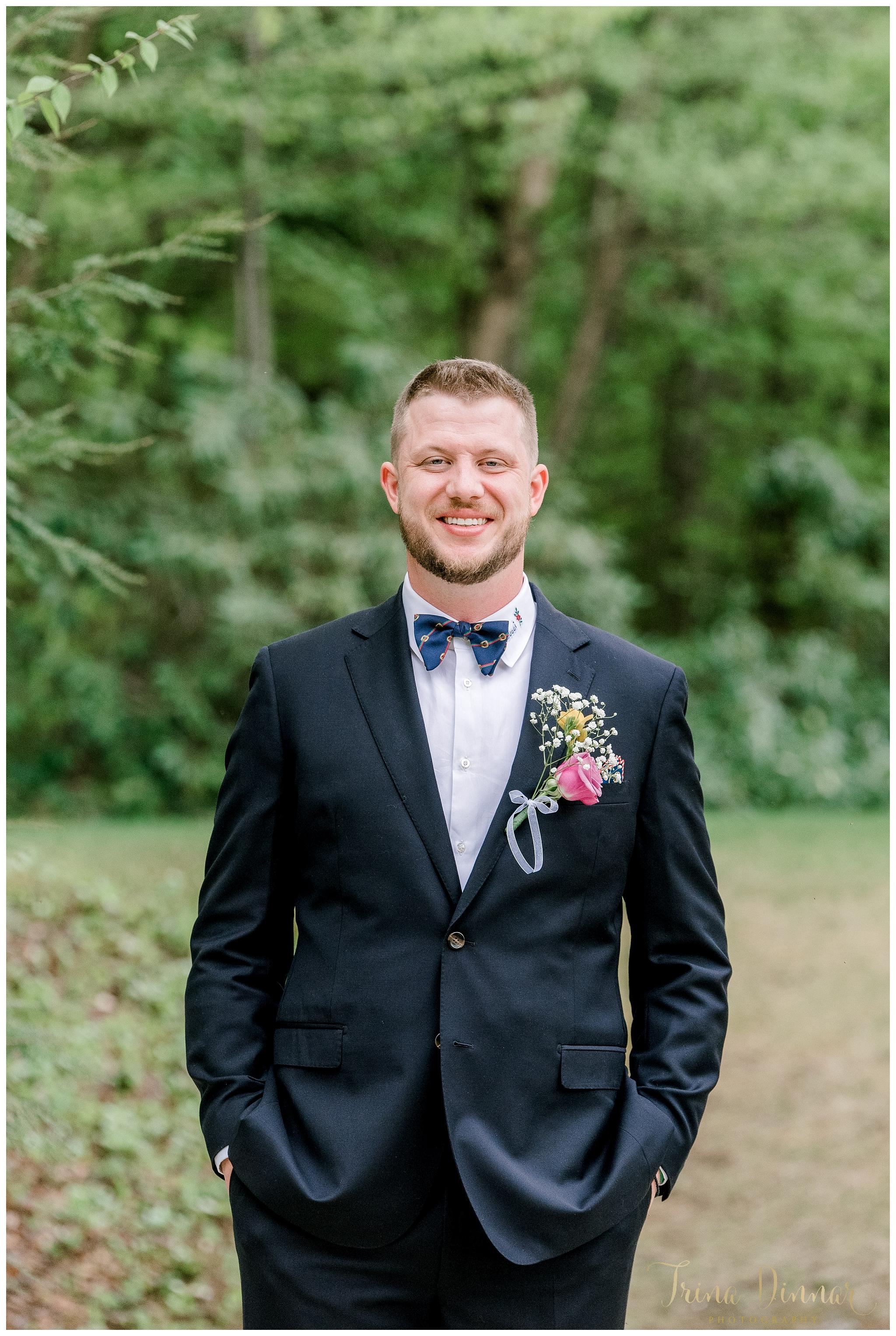 Tyler Allen Groom Portrait May 2019 Wedding