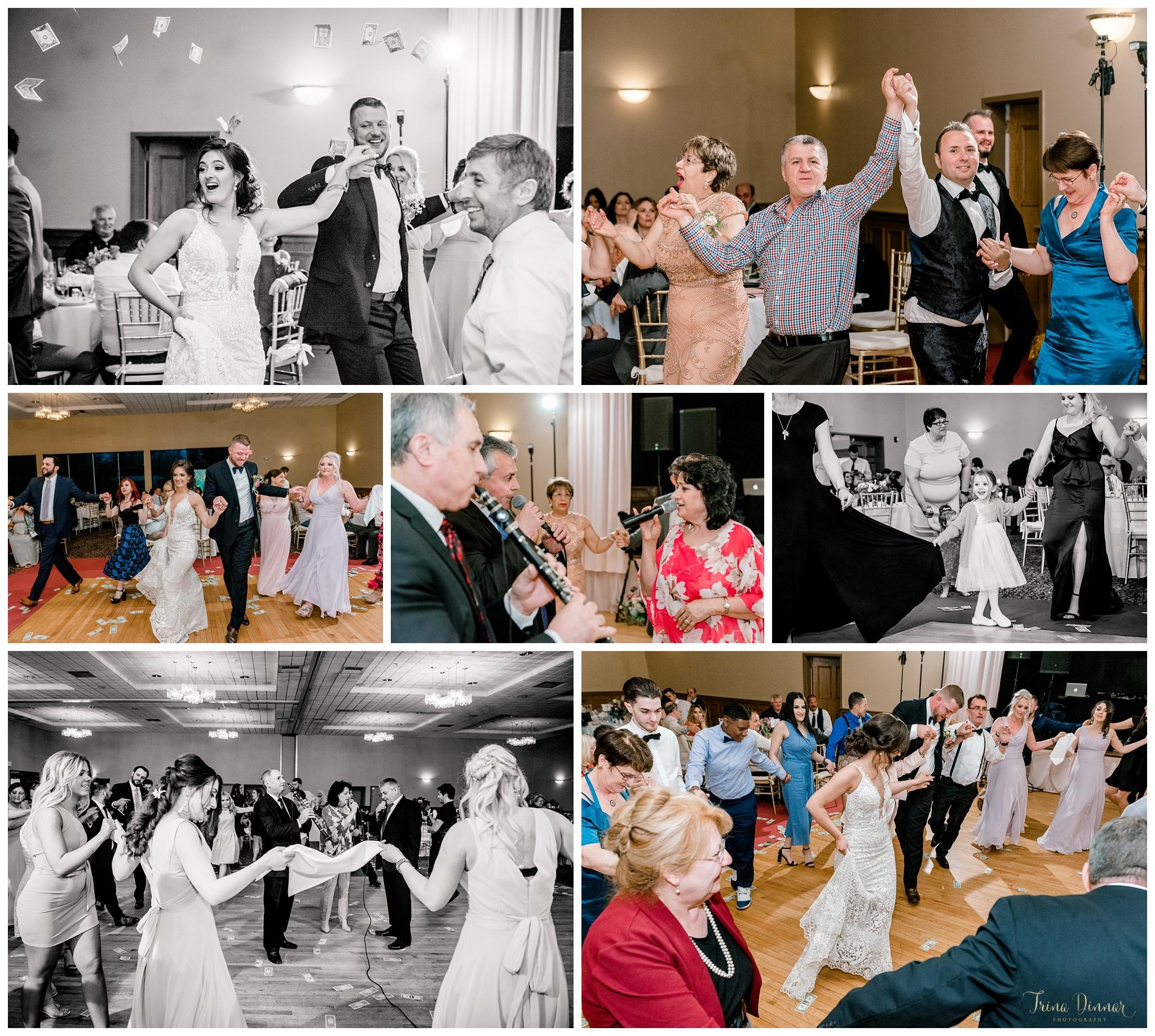 Traditional Greek Wedding Dancing at Sunday River