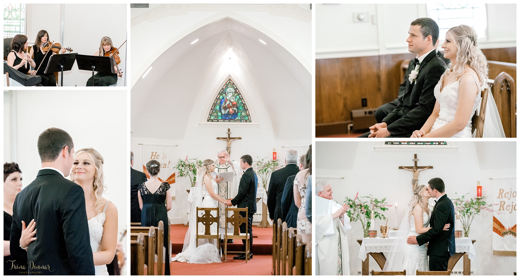 Our Lady of Good Hope Catholic Church Camden Maine Wedding