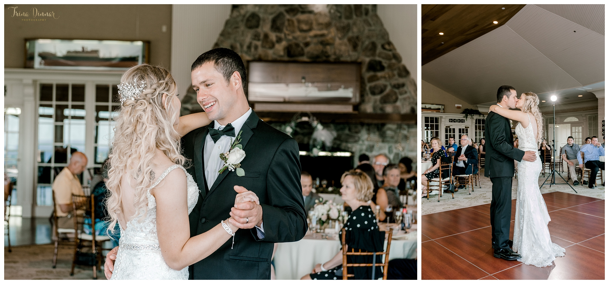 Bride Groom First Dance at The Summit Point Lookout