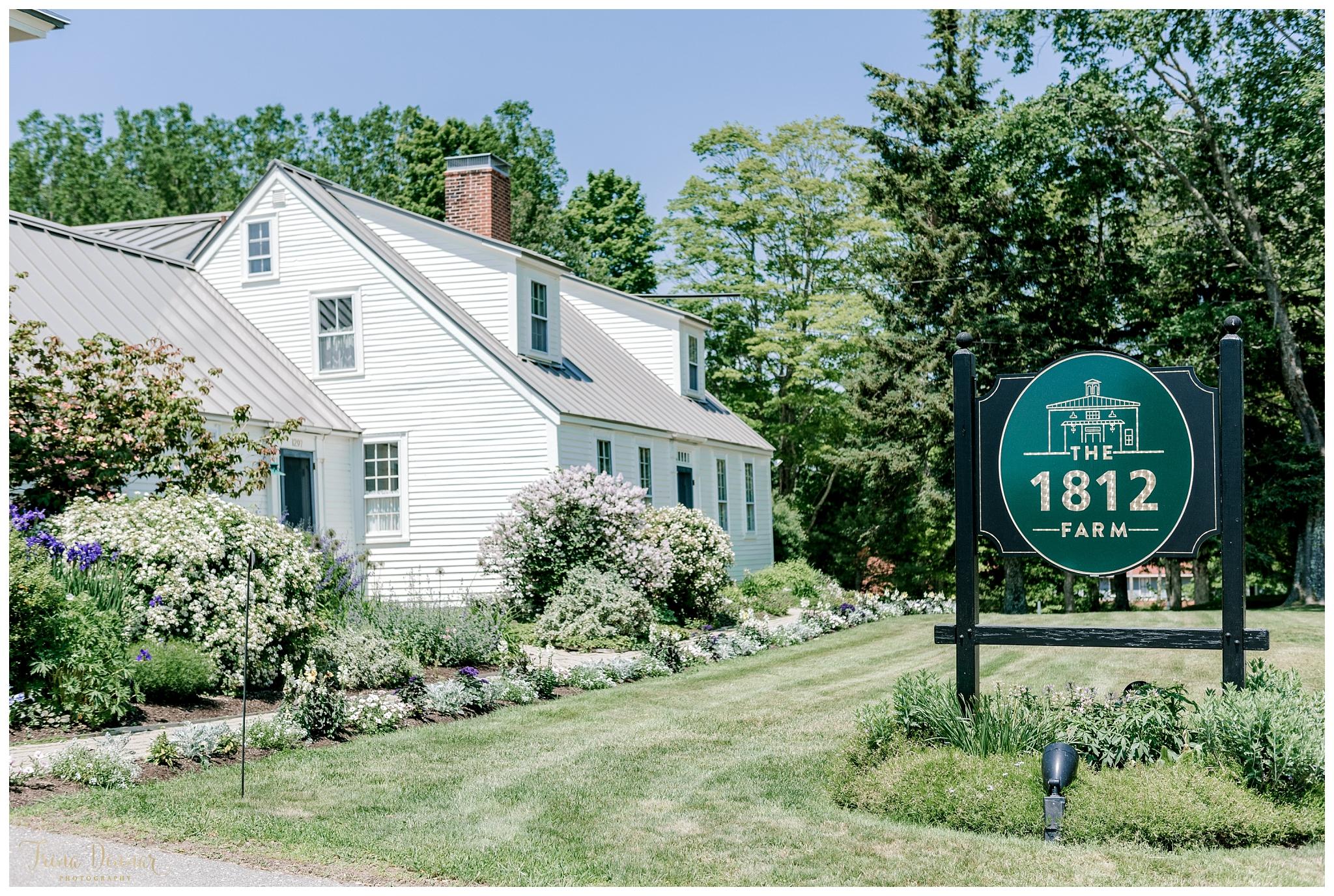 Maine Wedding Venue: The 1812 Farm in Bristol
