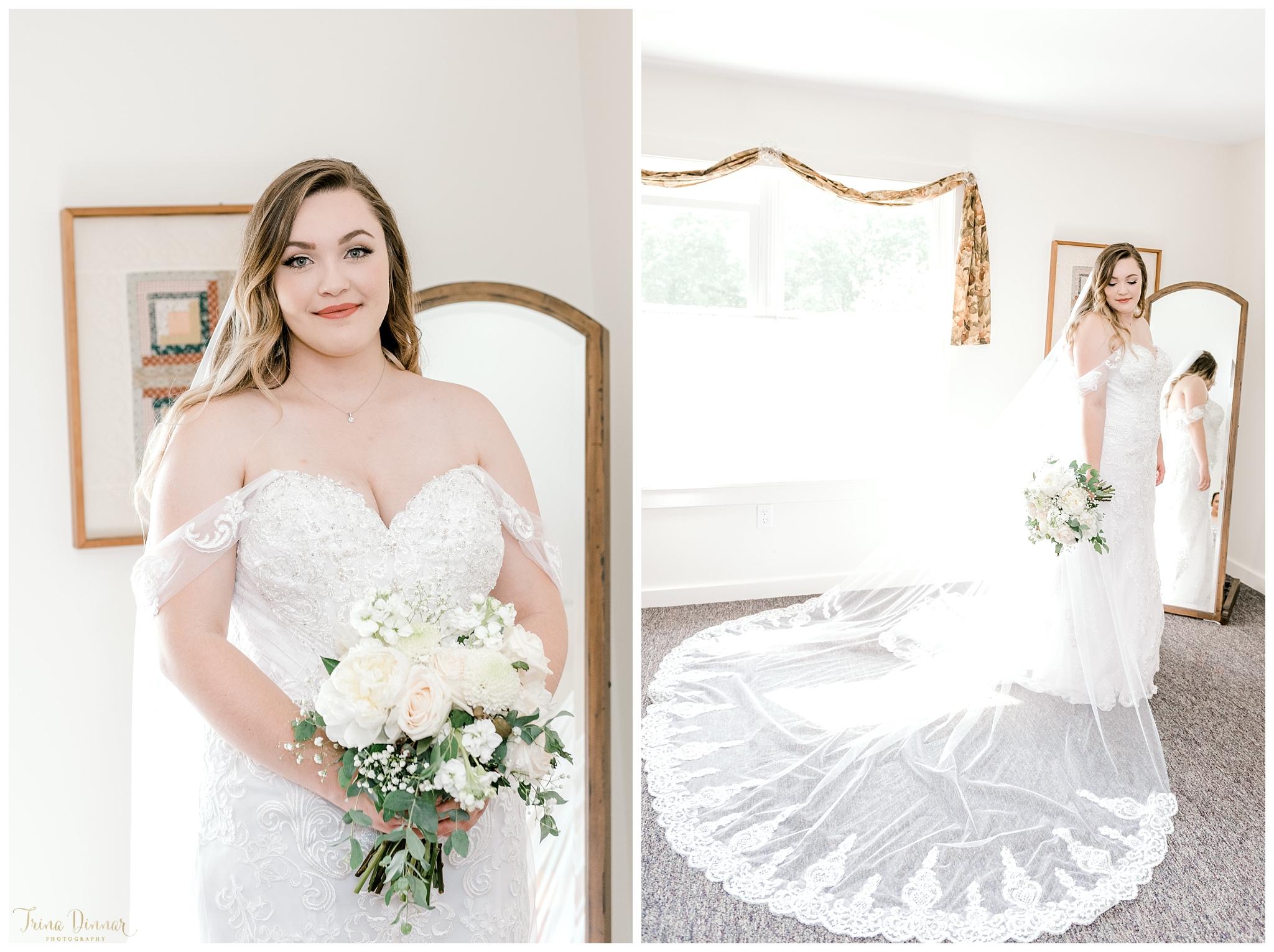 Wedding Bridal Portrait Photography in Bristol Maine