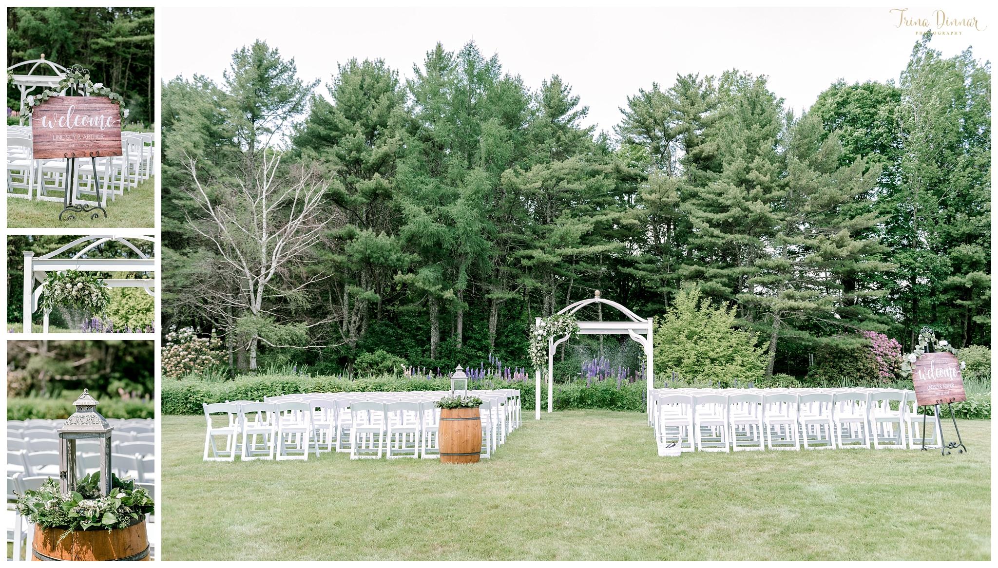 Bristol ME Wedding Ceremony at the 1812 Farm