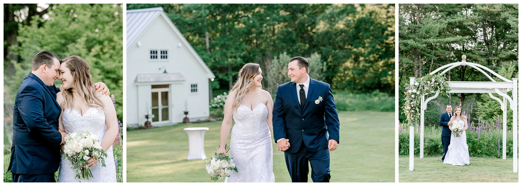 Maine Farm Wedding Photography at the 1812 Farm in Bristol