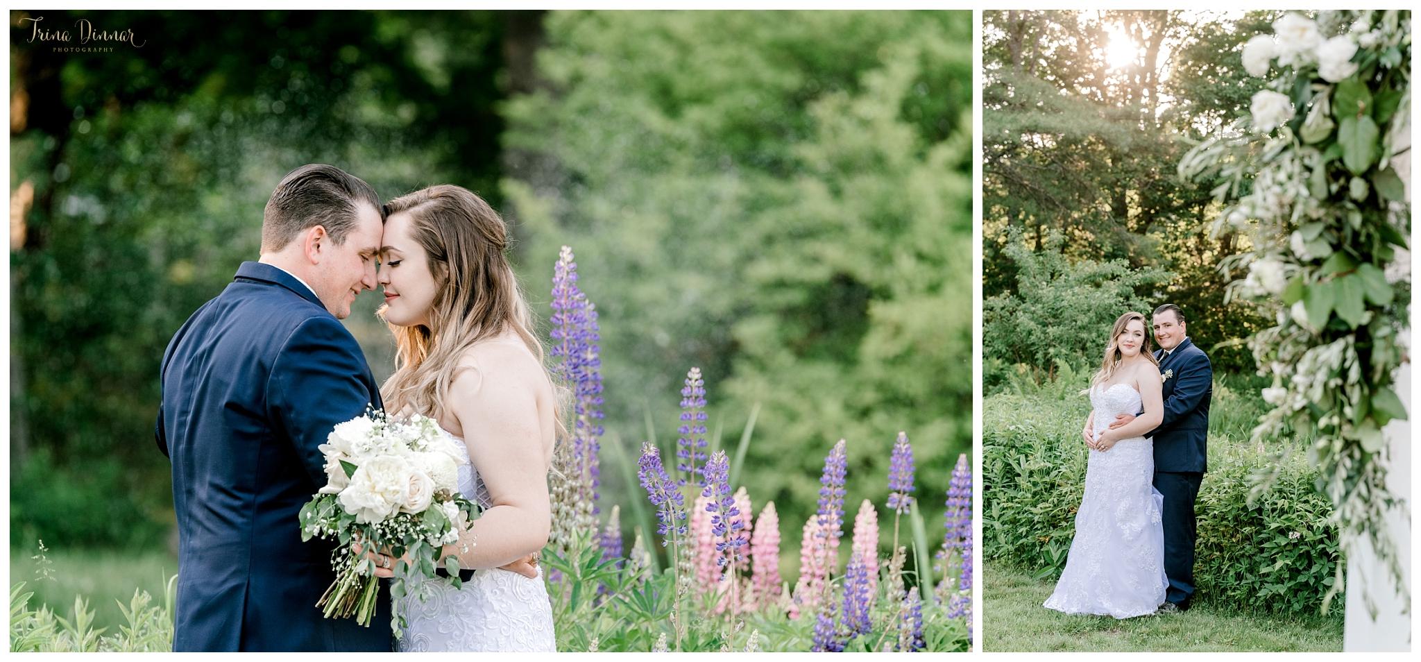 The 1812 Farm Bristol Maine Wedding by Trina Dinnar Photography