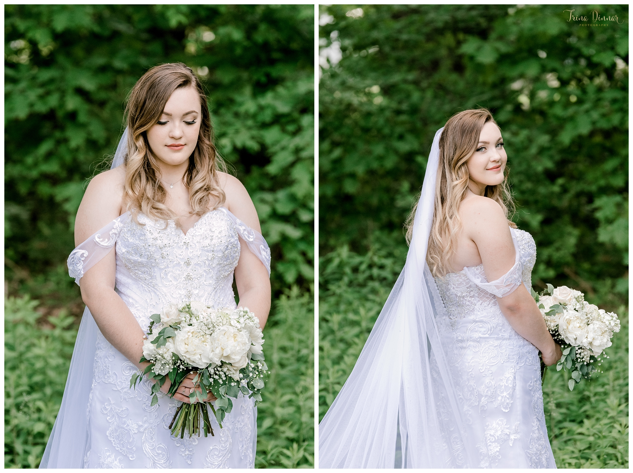 Bristol Maine Bridal Wedding Day Portraits