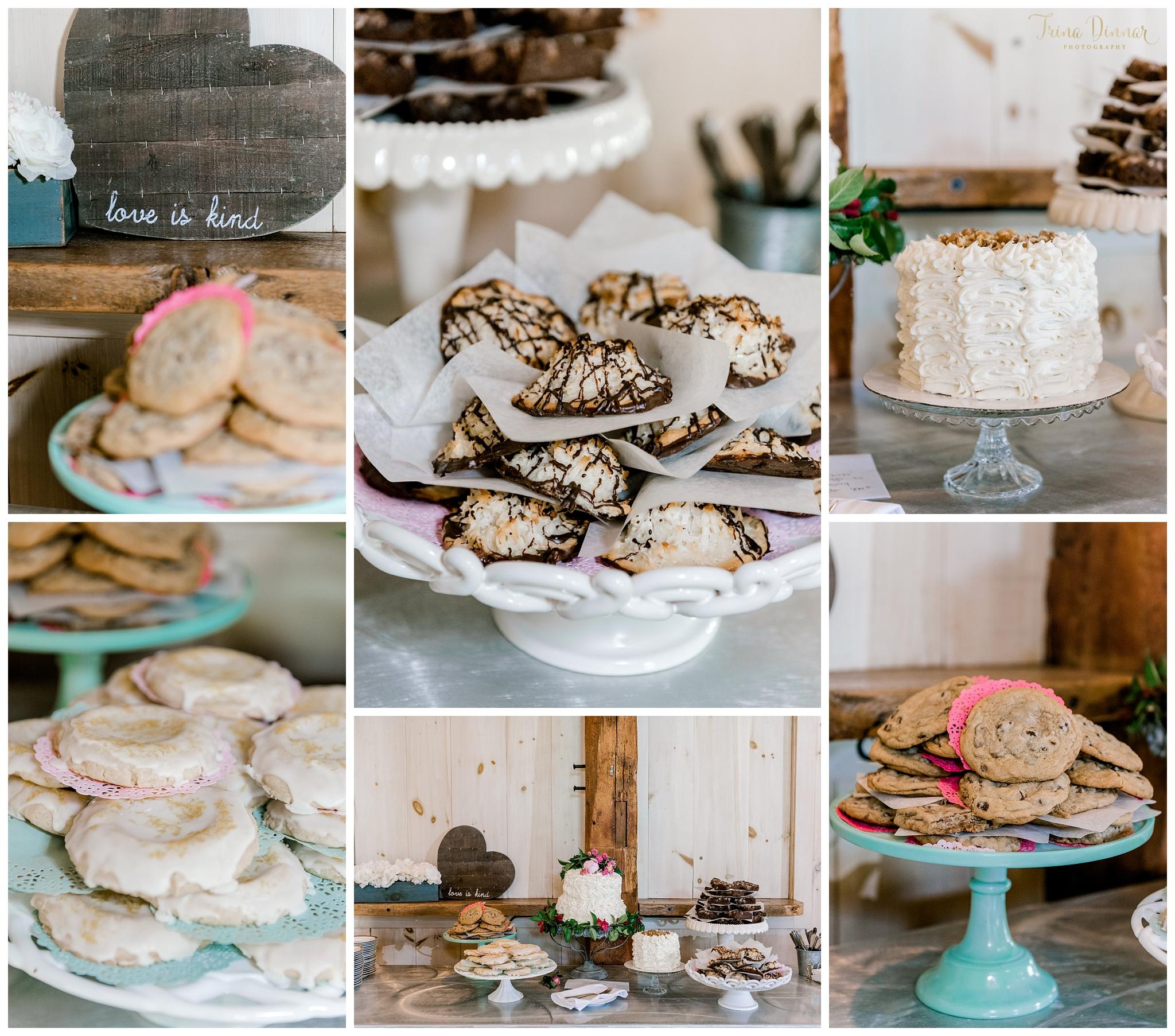 Maine Wedding Desserts by Rosalie Joy's Bakery