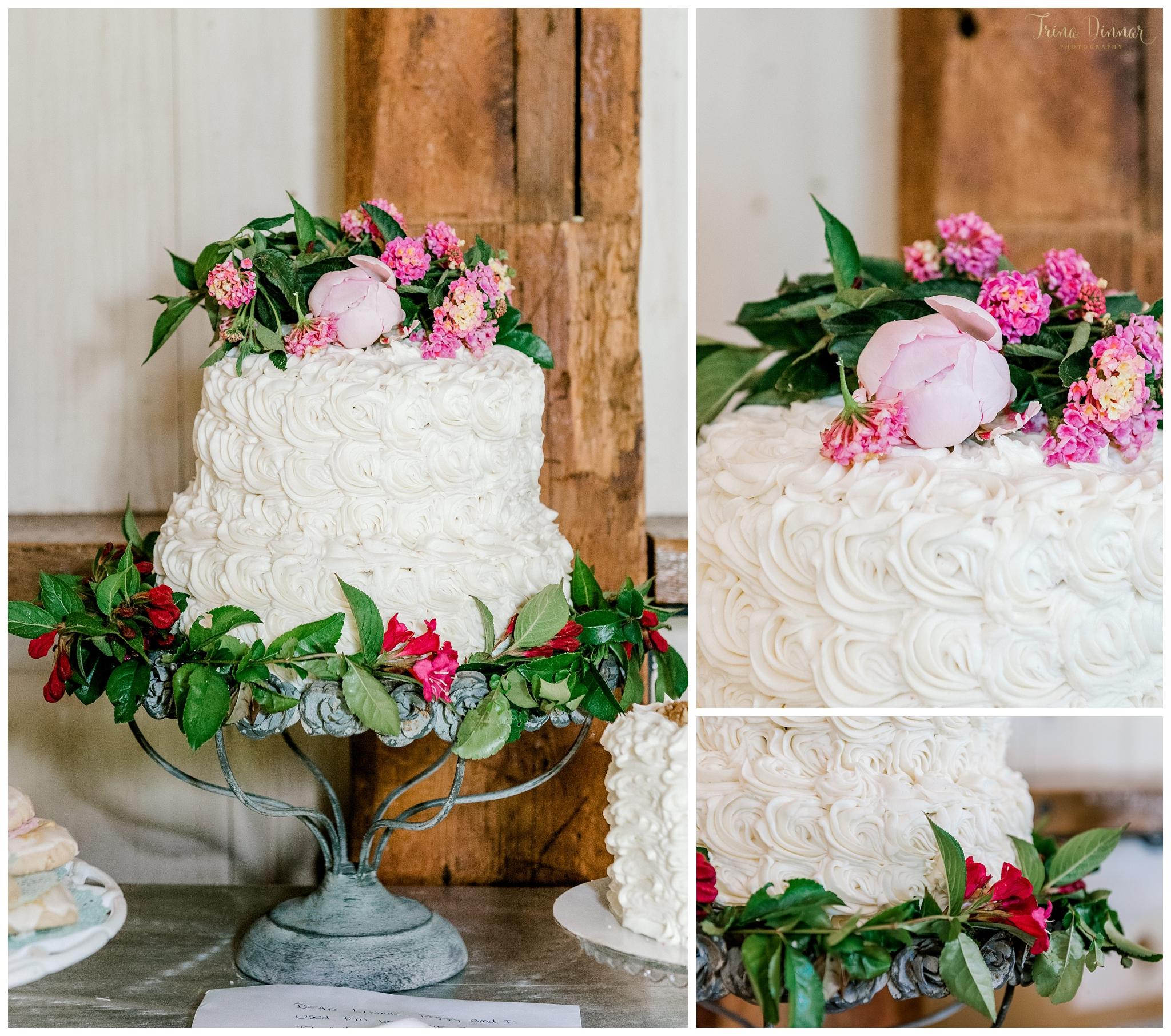 Rosalie Joy's Bakery Camden Maine Wedding Cake