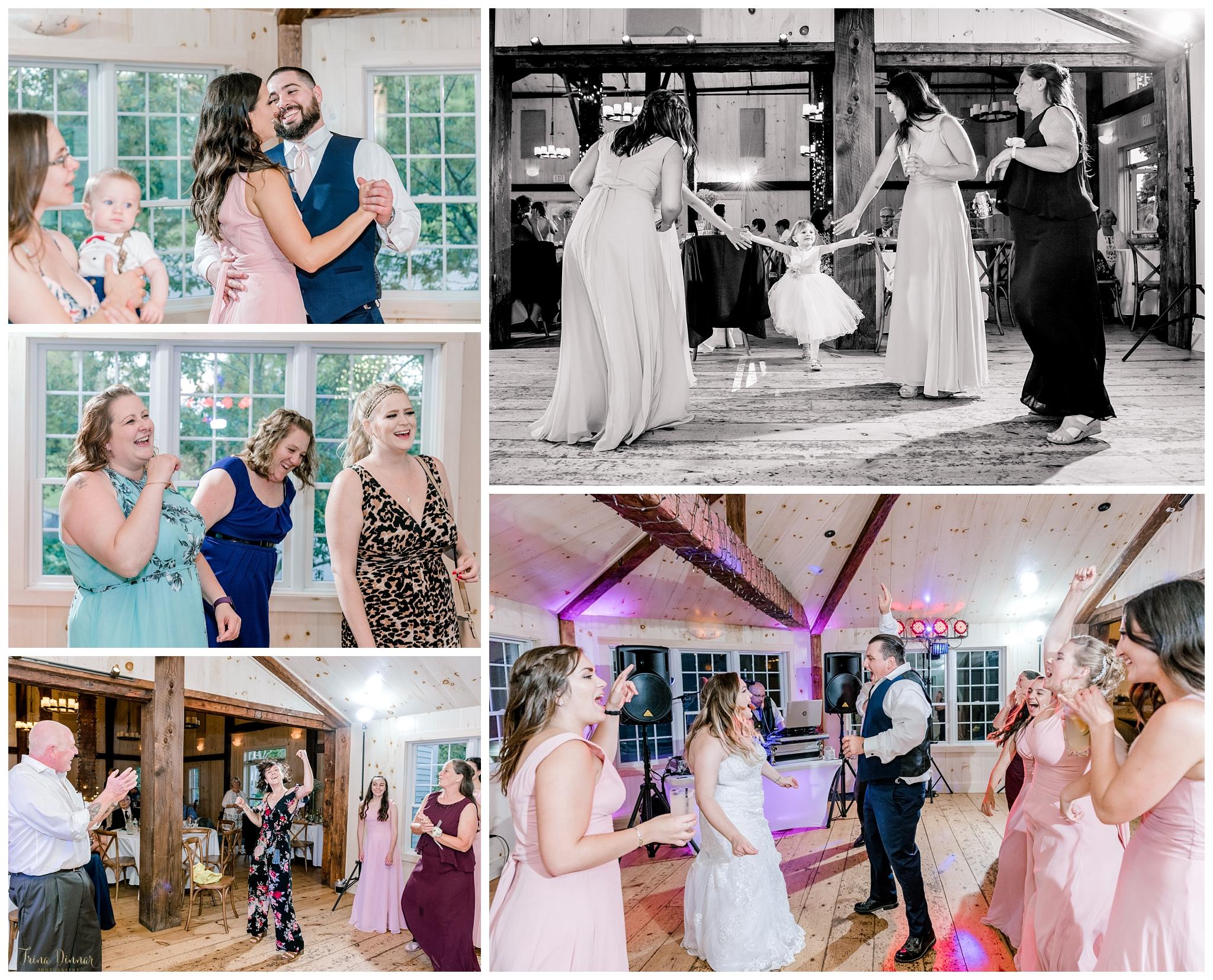 1812 Farm Wedding Reception Dancing