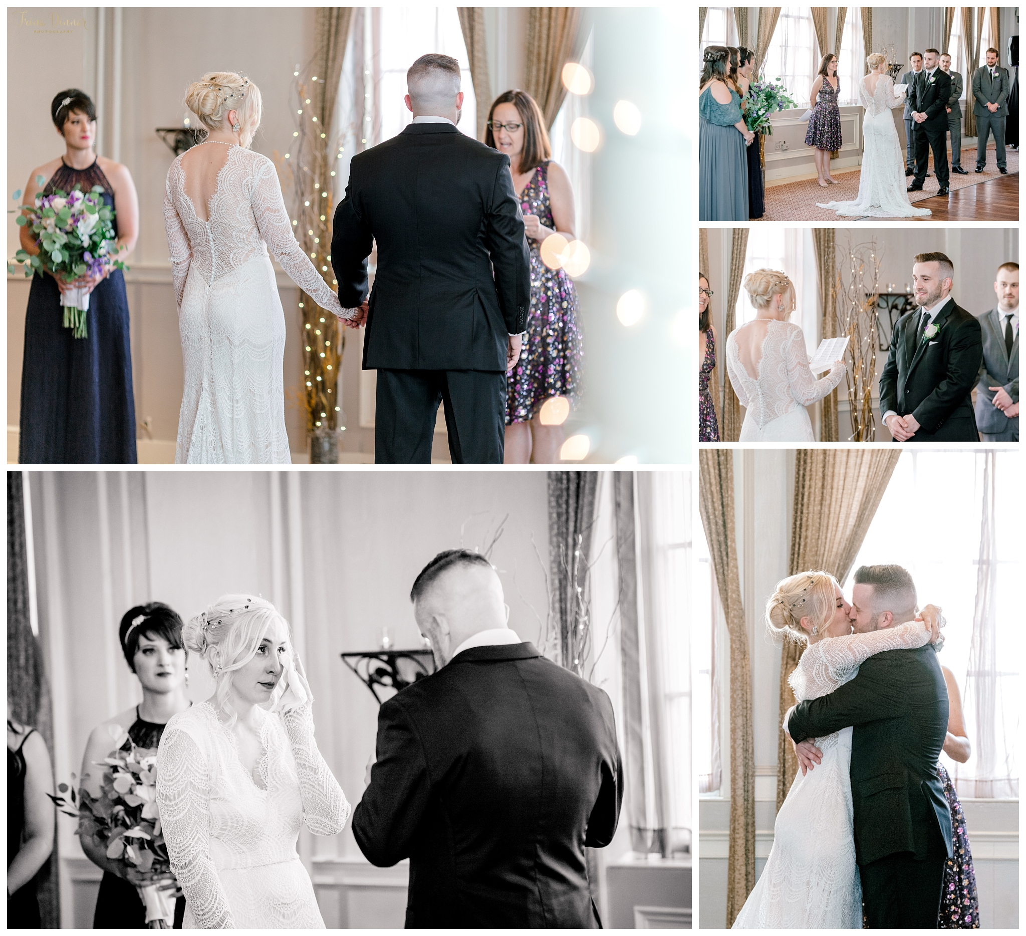 The Portland Club Maine Wedding Ceremony