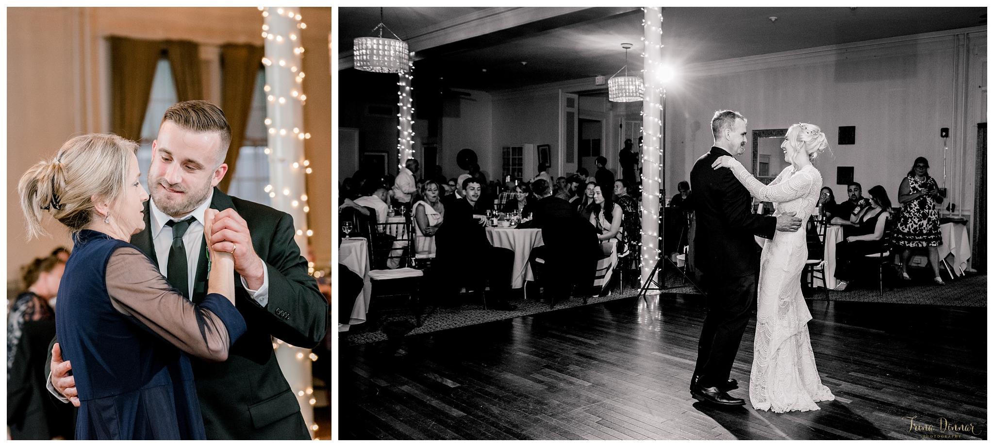 Maine Wedding Reception Parent Dances