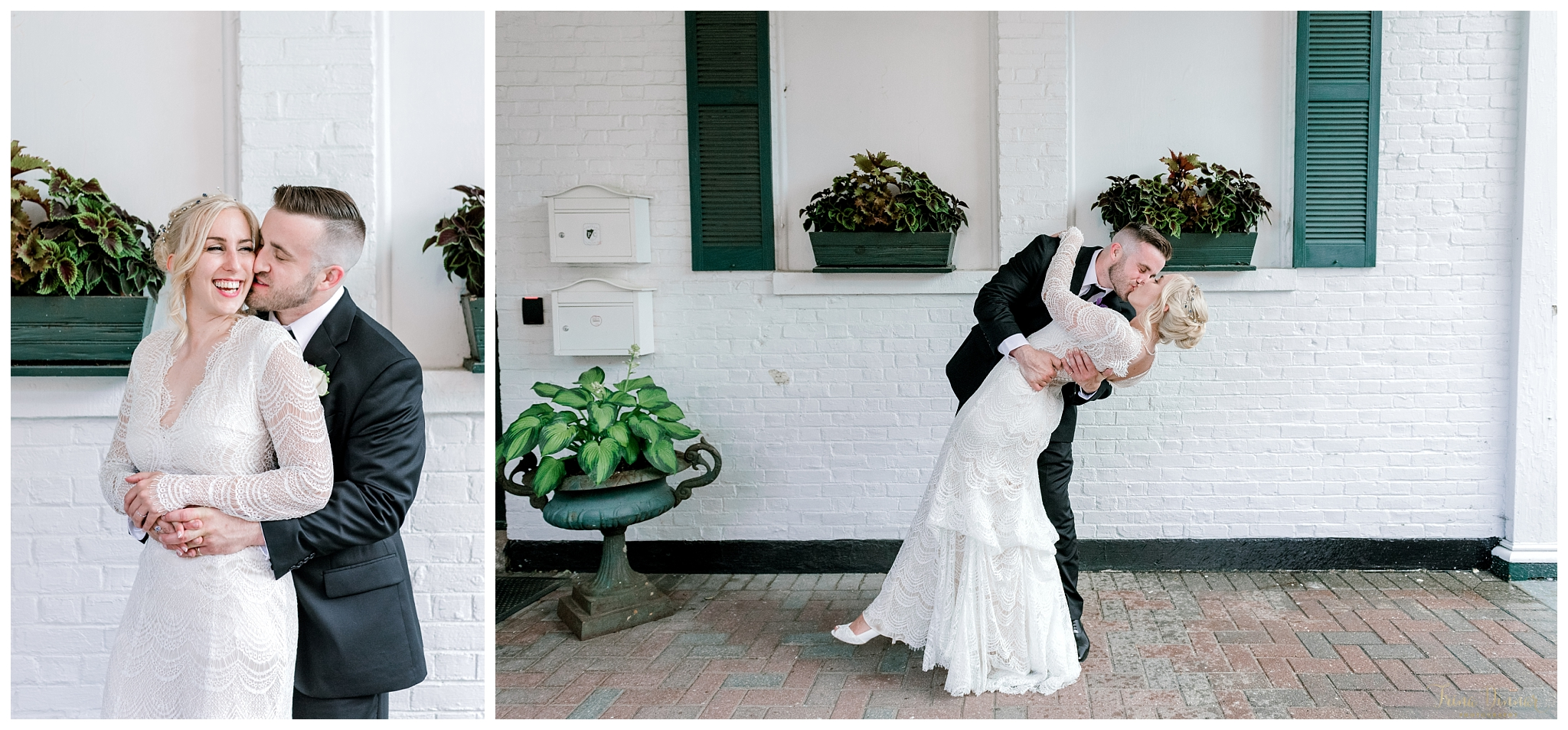 Breanna and Matt Portland Club Wedding Portraits