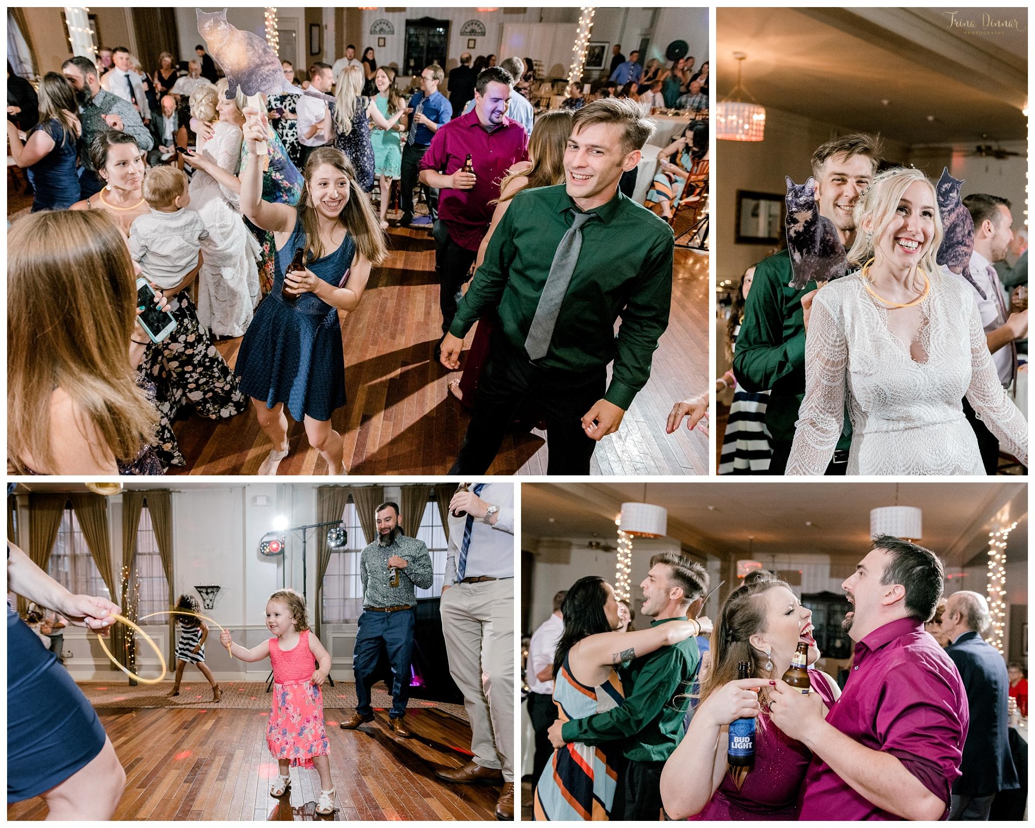 Portland ME Wedding Reception Dancing