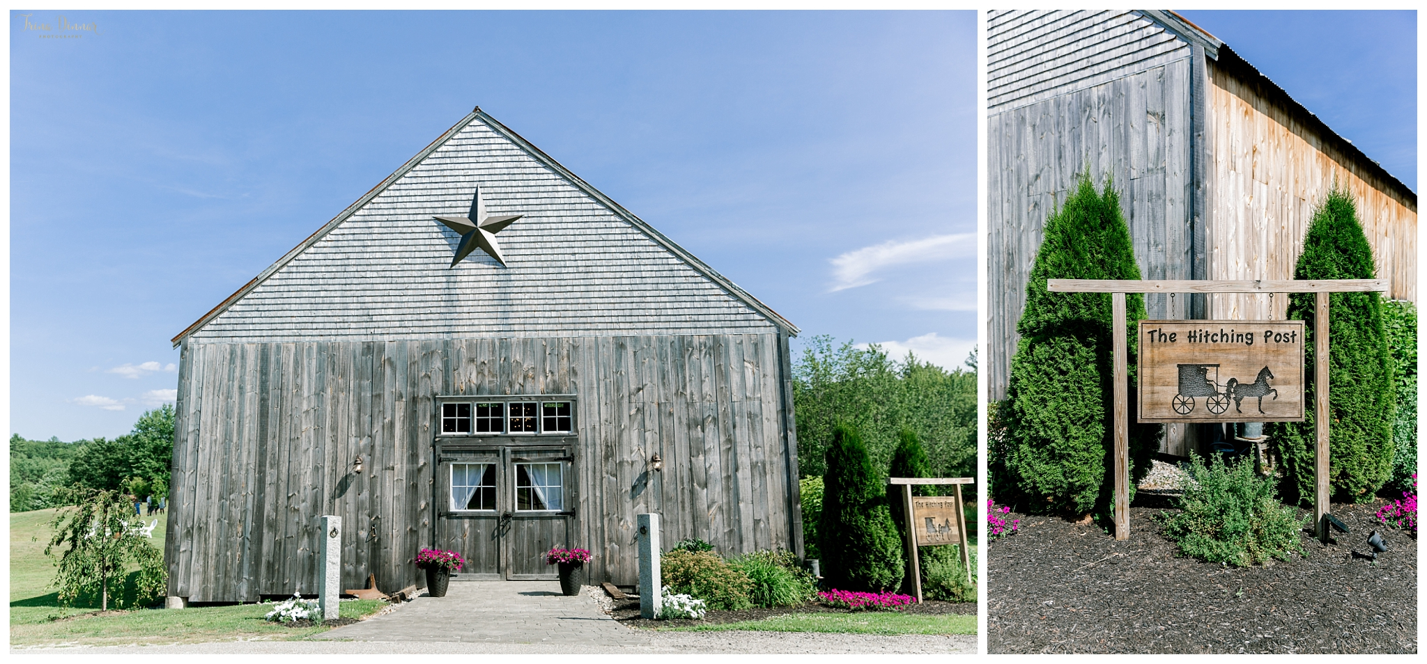 The Hitching Post is a wedding venue in Dayton, Maine.