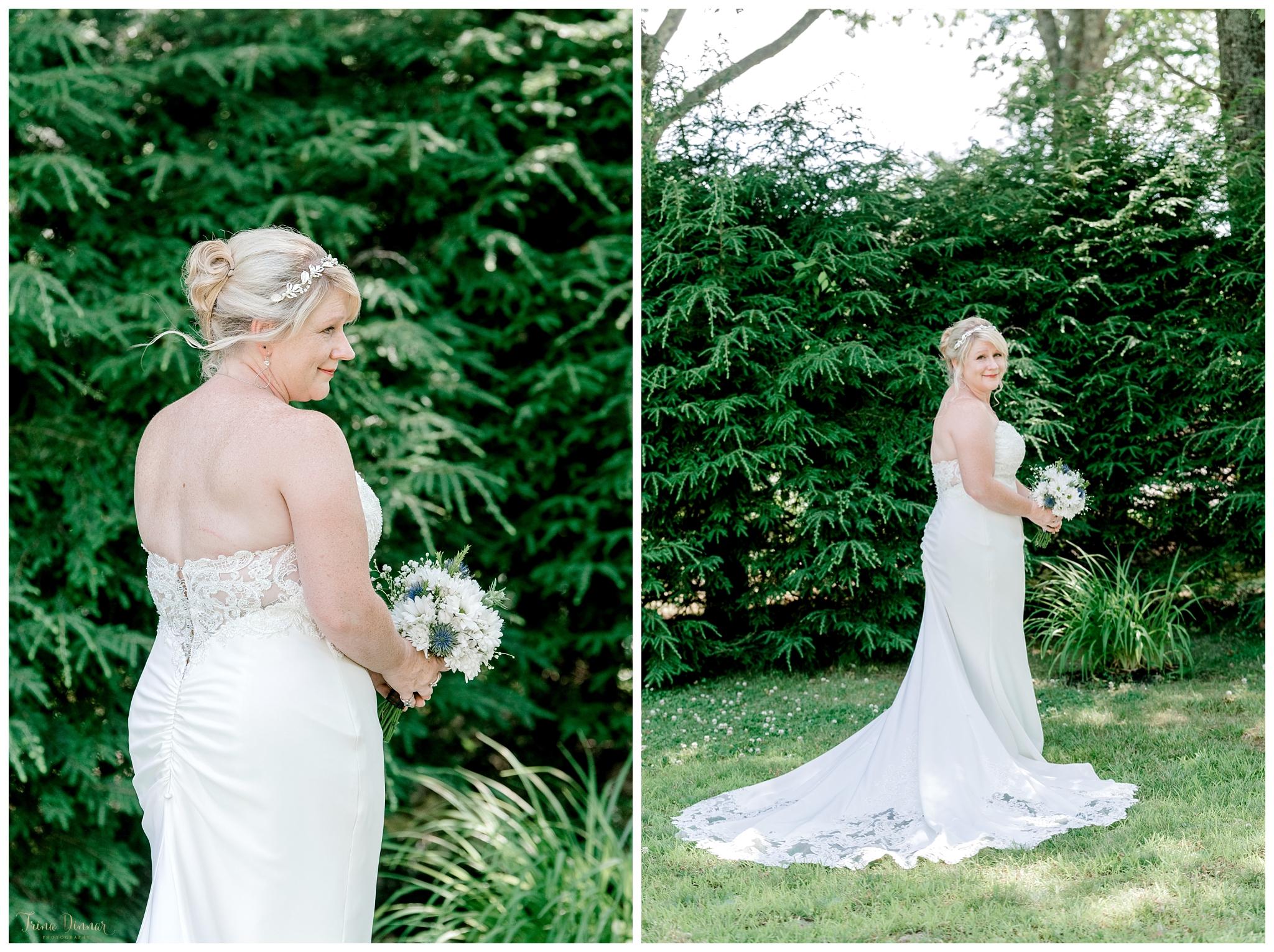 Wedding Day Maine Bridal Portraits