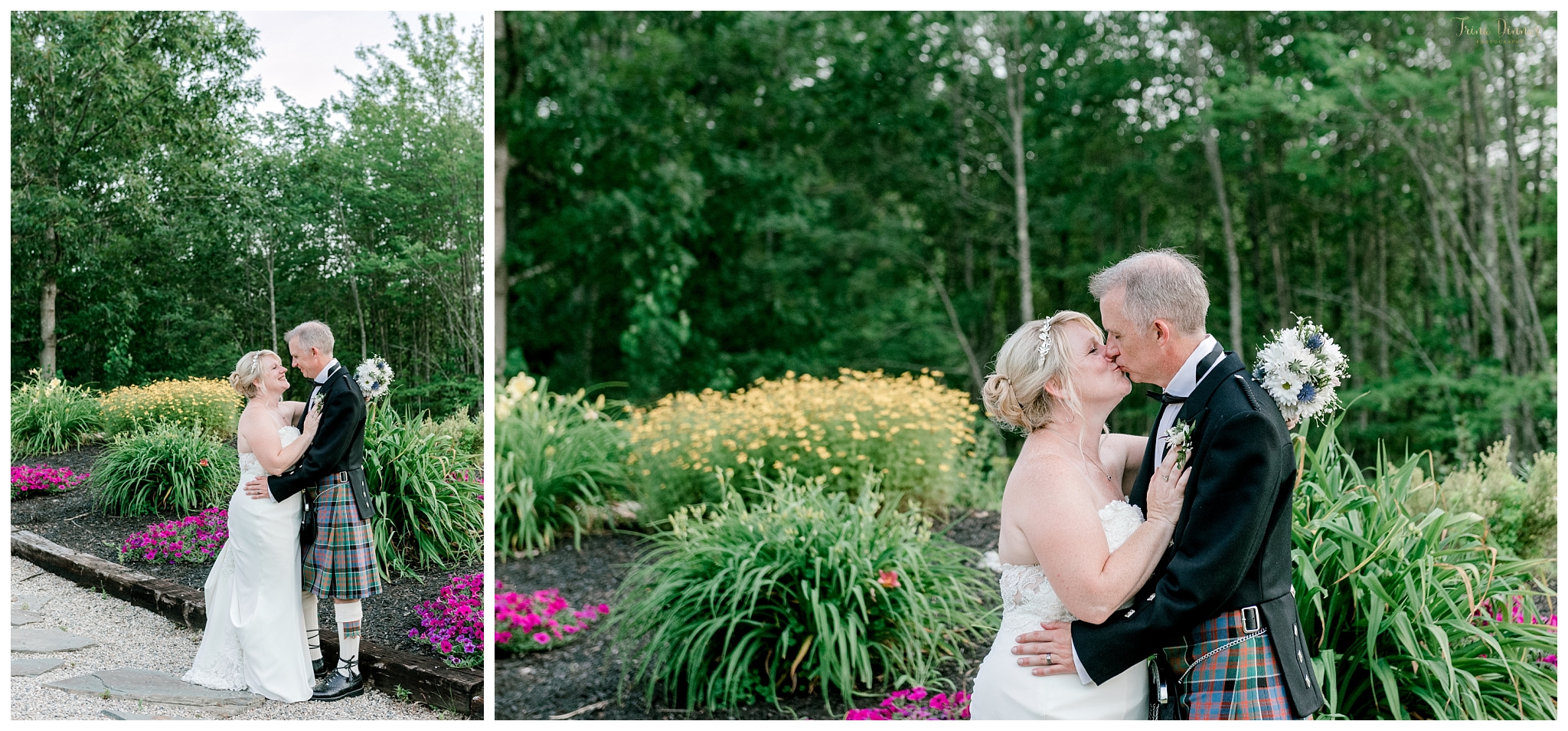 Bride and Groom Portraits at the Hitching Post.