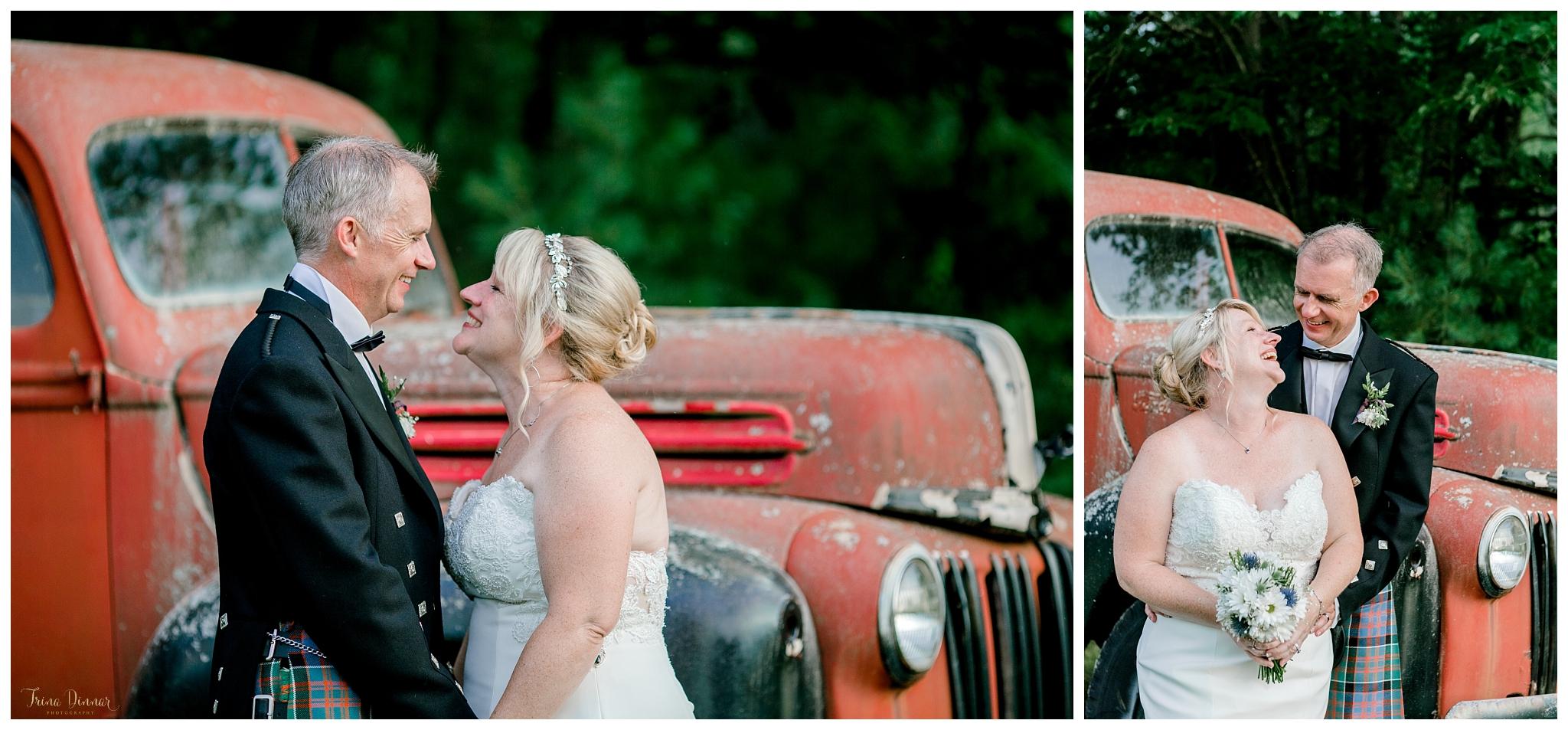 Rustic Southern Maine Farm Wedding