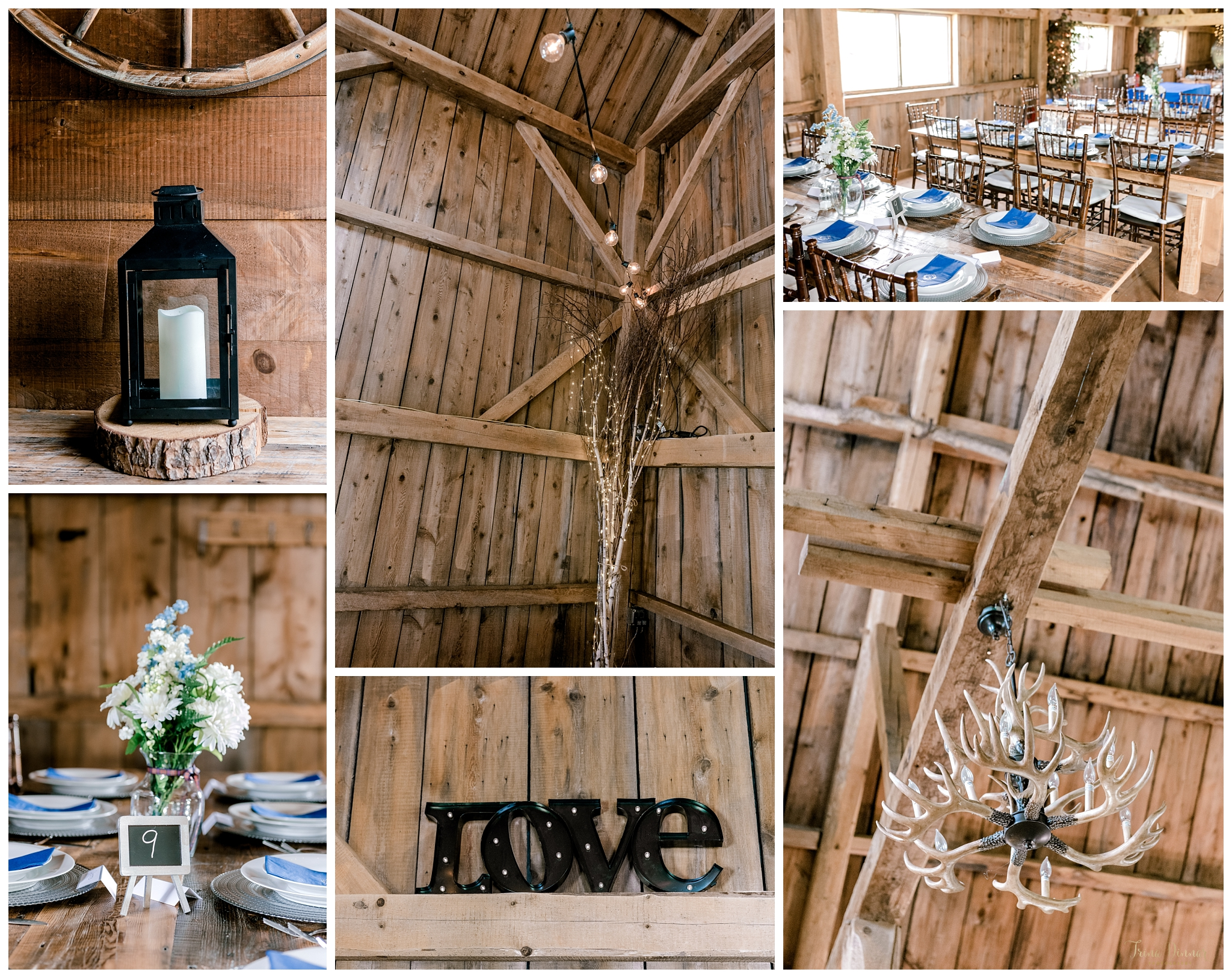 Rustic Maine Barn Wedding Detail Photography