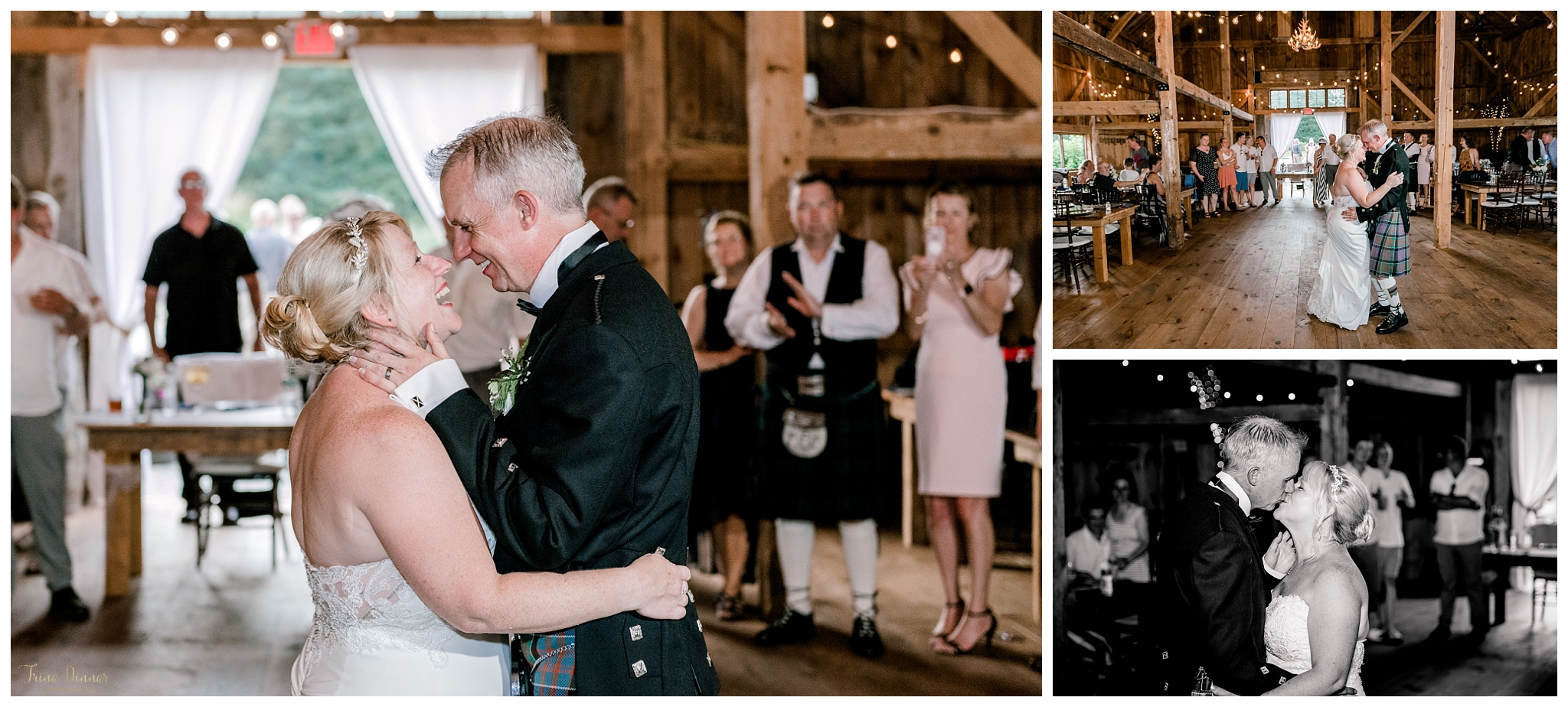 Angela and Billy's First Dance at The Hitching Post