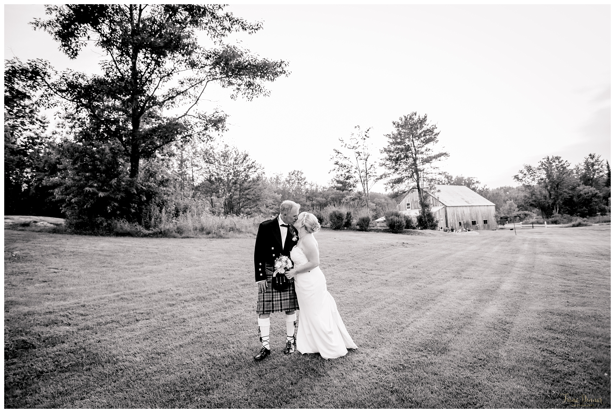 Angela and Billy's Maine Wedding at The Hitching Post